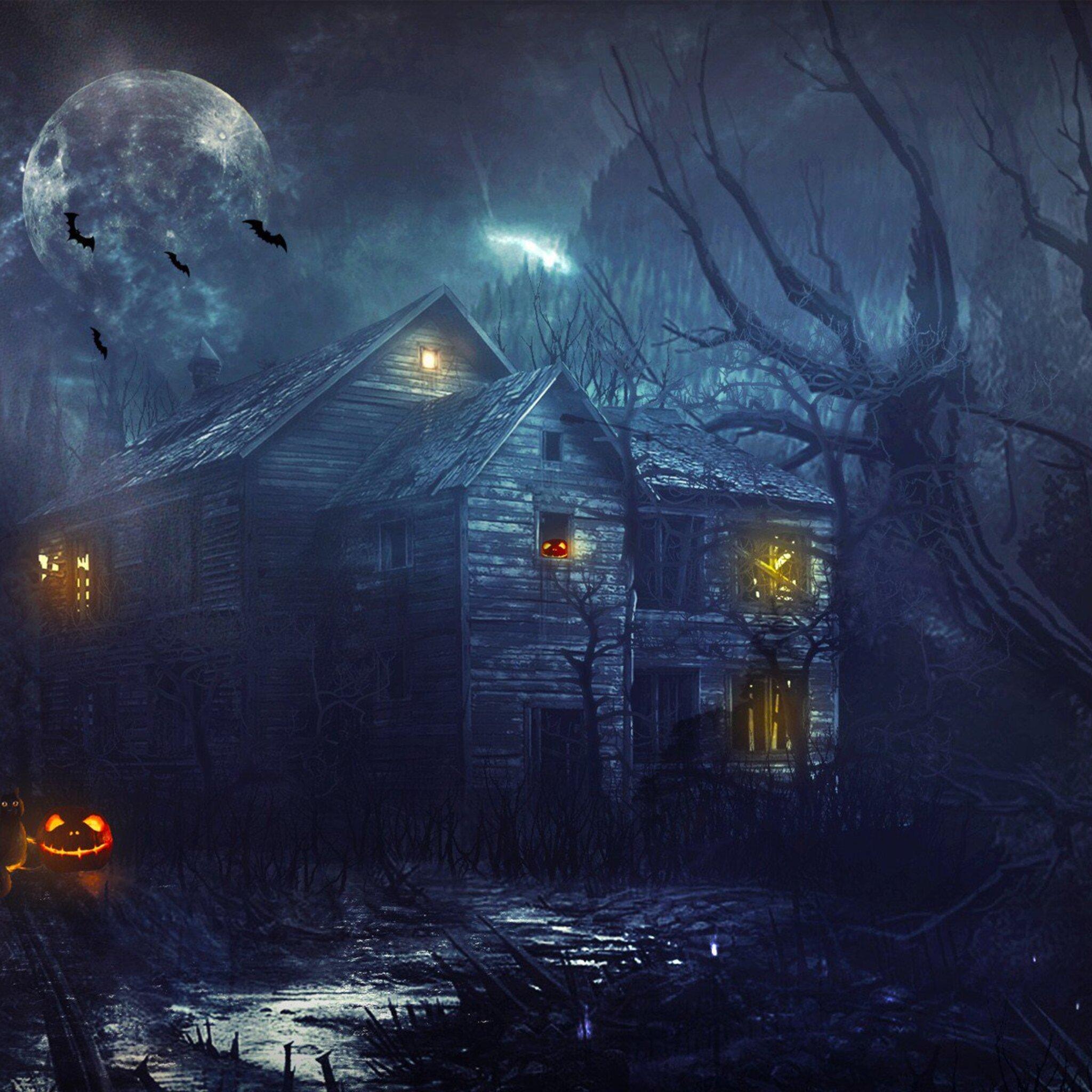 2048x2048 2016 Halloween Ipad Air HD 4k Wallpapers, Images