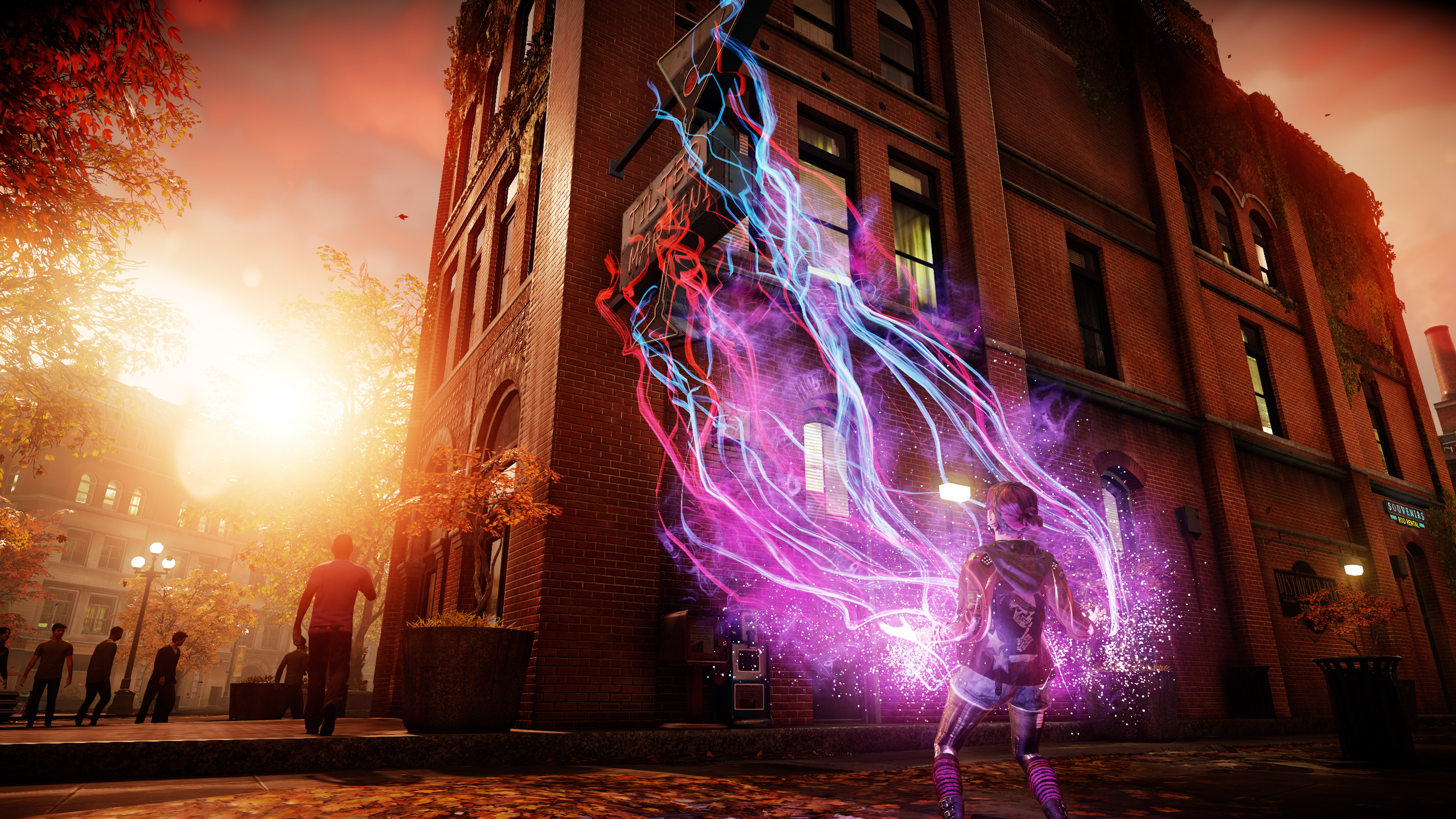 2016 Infamous Second Son And First Light, HD Games, 4k .
