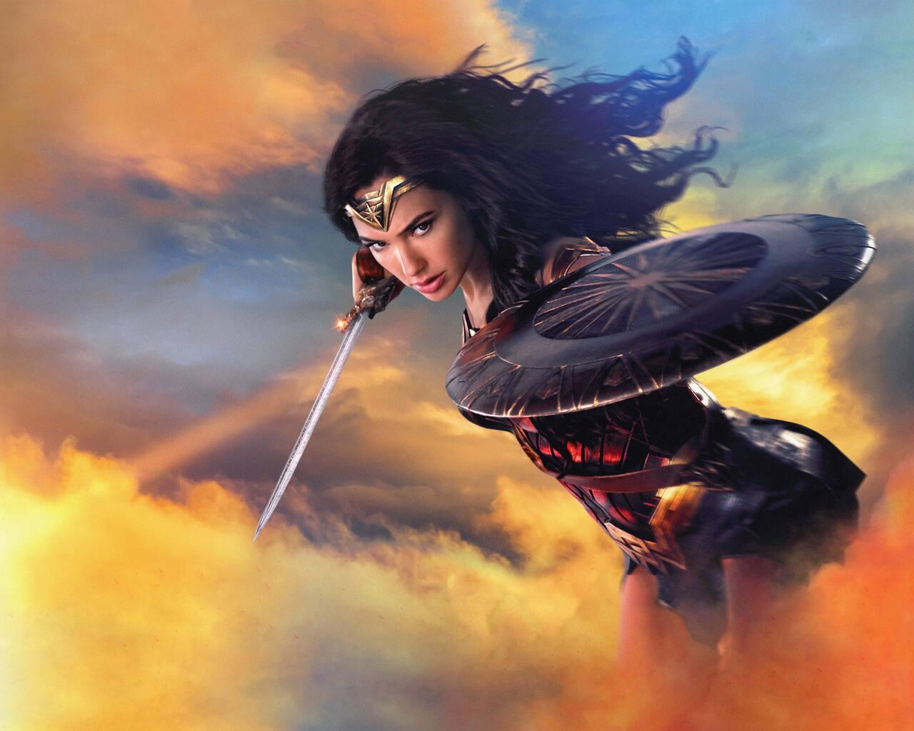 Wallpaper Wonder Woman Hd 4k 8k Movies 9526: 1280x1024 2017 Wonder Woman 8k 1280x1024 Resolution HD 4k