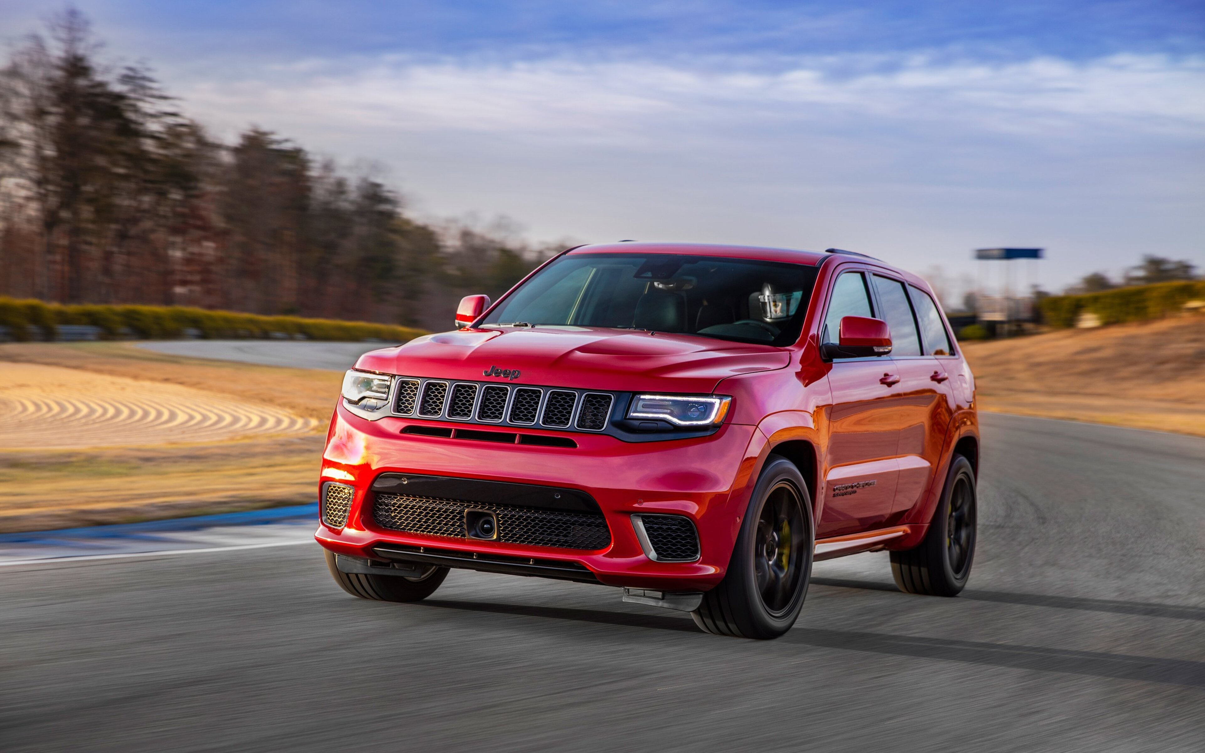 3840x2400 2018 Jeep Grand Cherokee Trackhawk HD 4k HD 4k ...