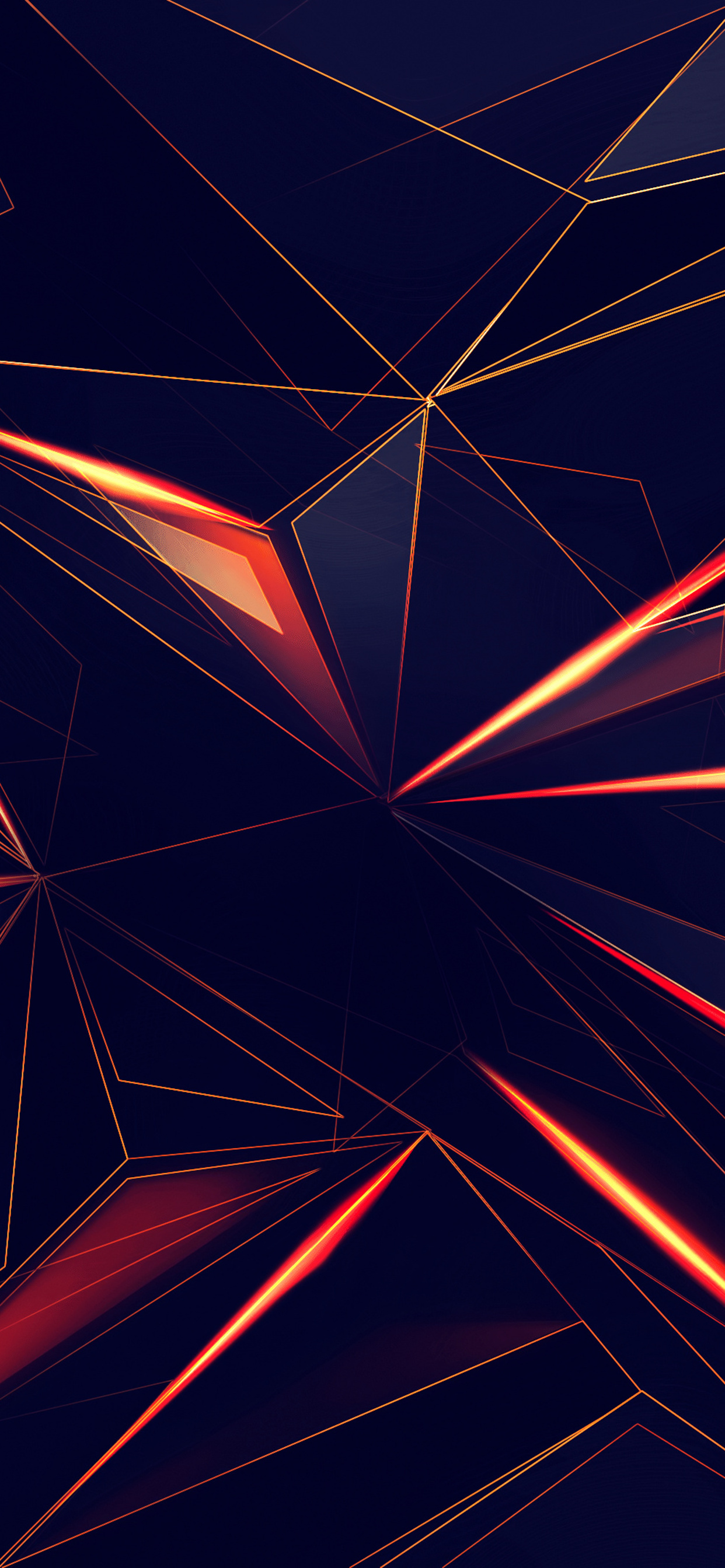 1242x2688 3d Shapes Abstract Lines 4k Iphone XS MAX HD 4k ...