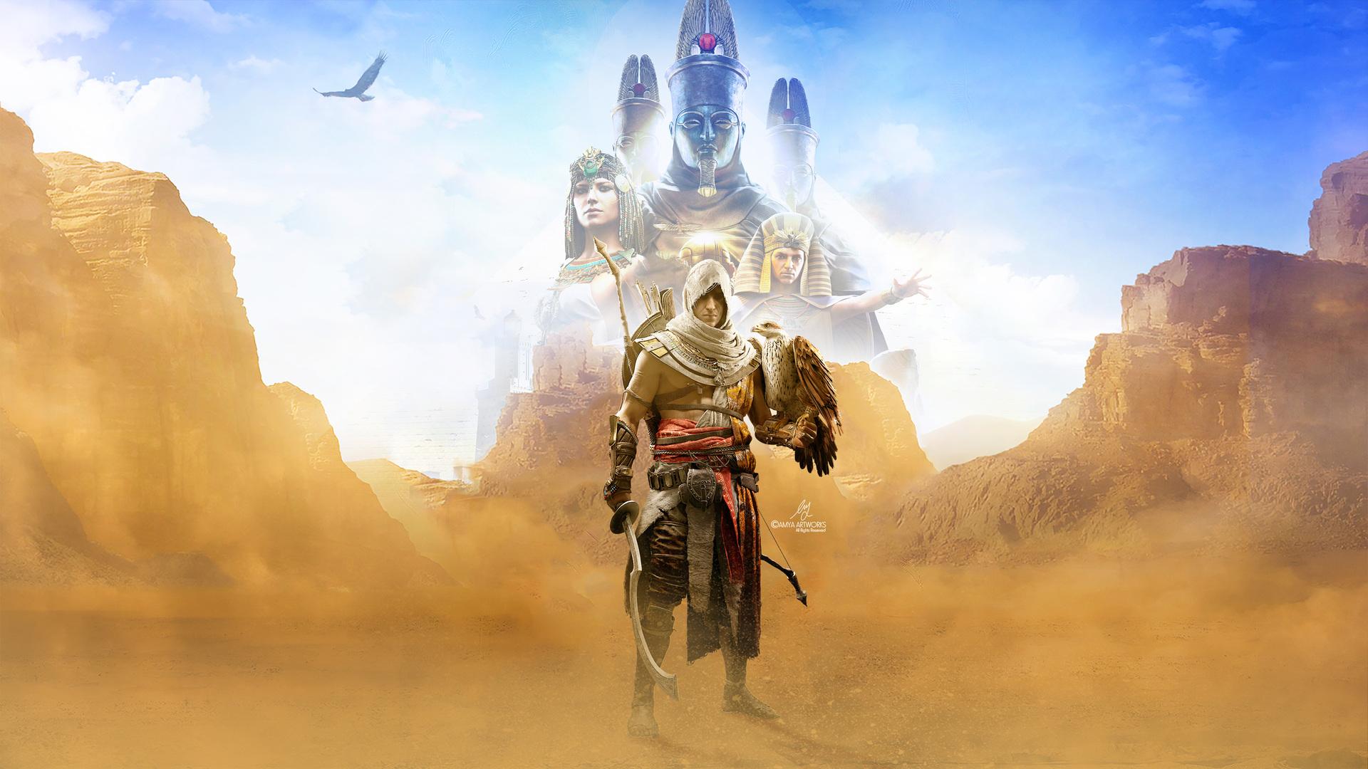 1920x1080 4k Assassins Creed Origins Laptop Full HD 1080P ...