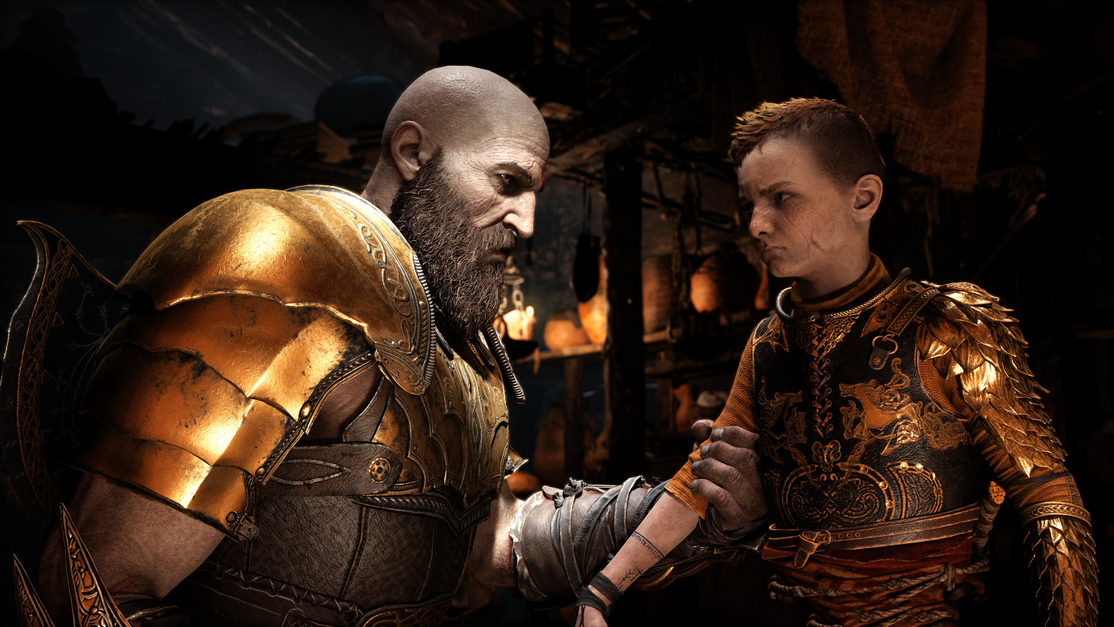 4k god of war 4 kratos and atreus hd games 4k wallpapers images backgrounds photos and pictures - Wallpaper kratos ...