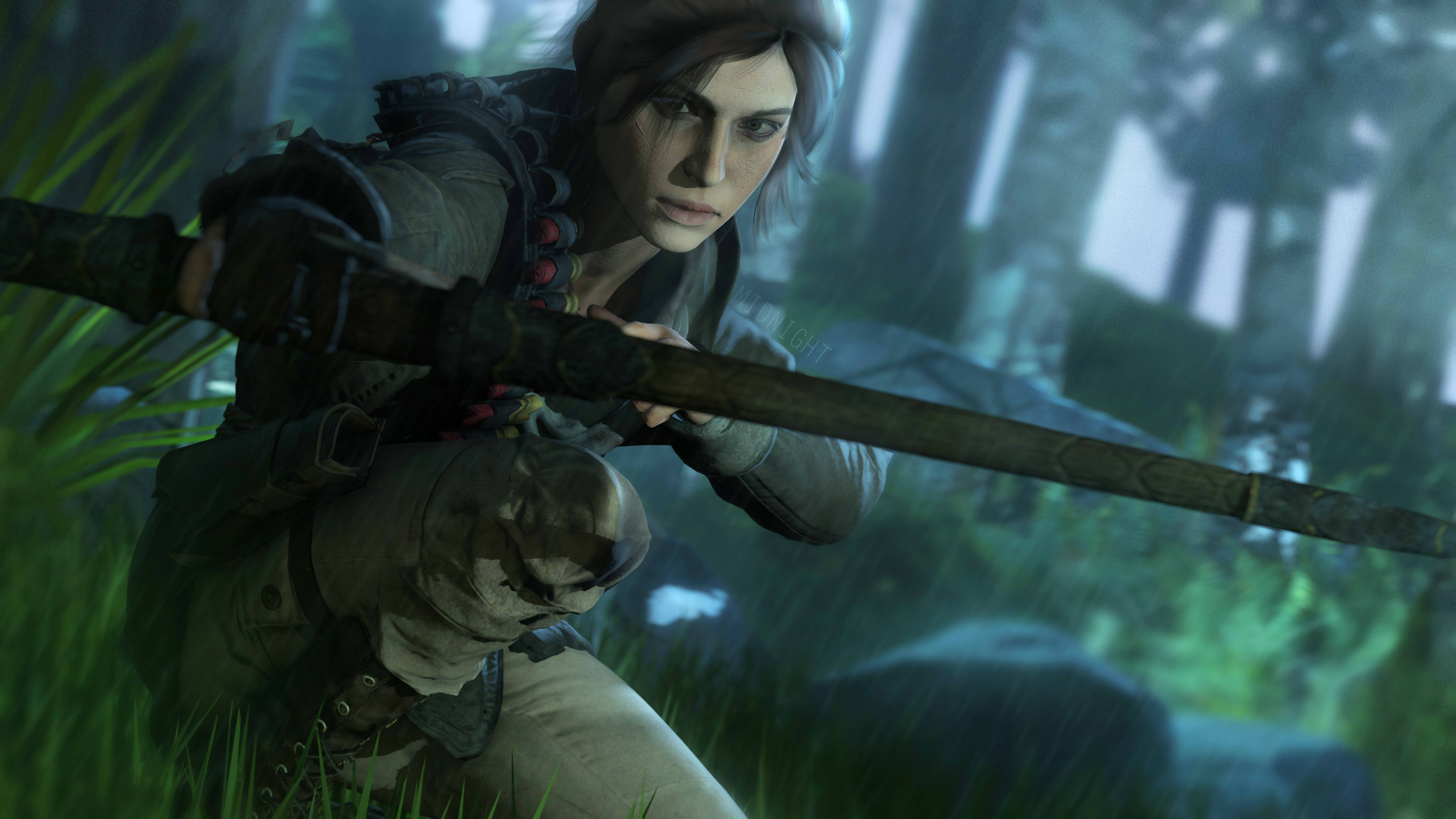 5k Lara Croft Tomb Raider Art, HD Games, 4k Wallpapers