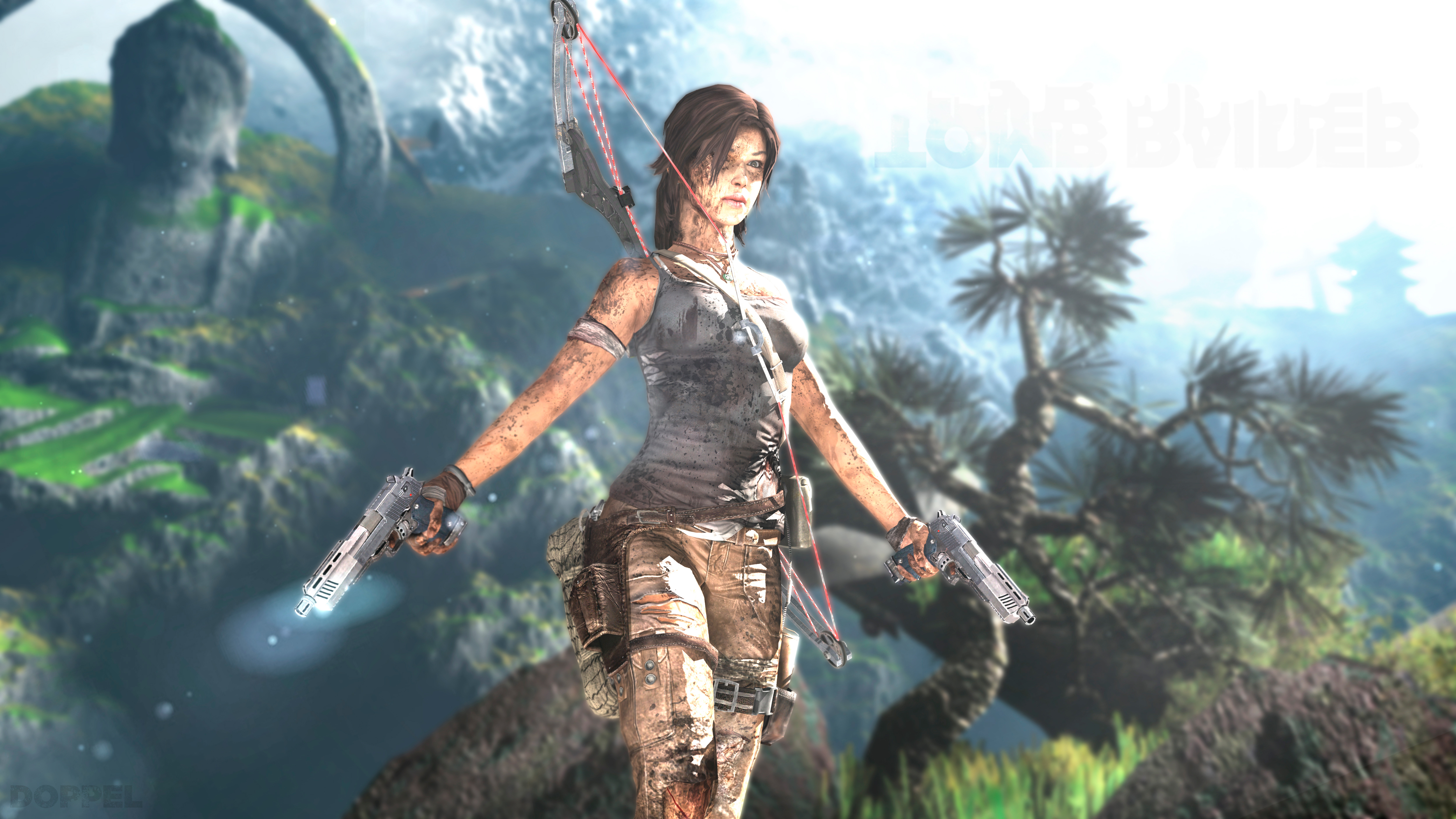 7680x4320 Lara Croft 8k Artwork 8k Hd 4k Wallpapers: 3840x2160 5k Tomb Raider 4k HD 4k Wallpapers, Images