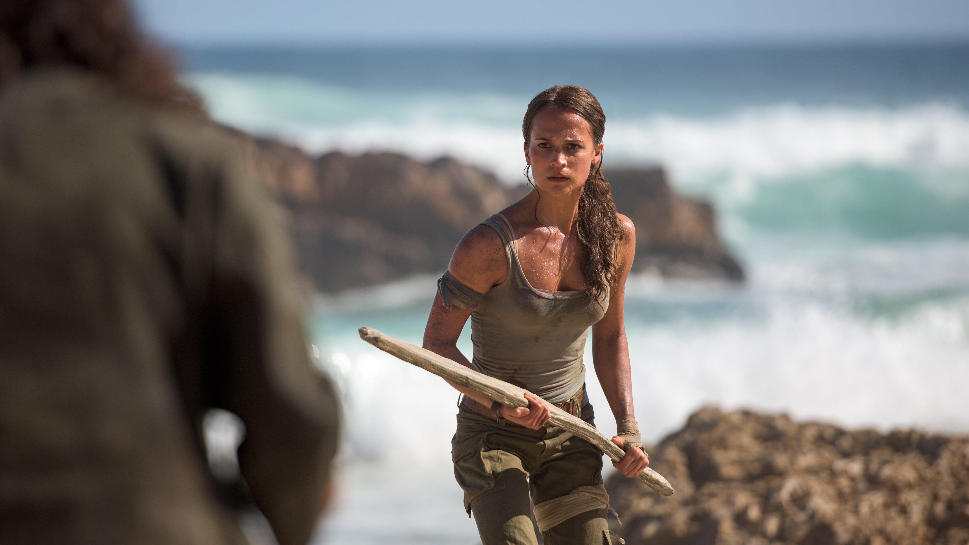 3840x2160 Lara Croft Tomb Raider Artwork 4k Hd 4k: 3840x2160 Alicia Vikander As Lara Croft In Tomb Raider
