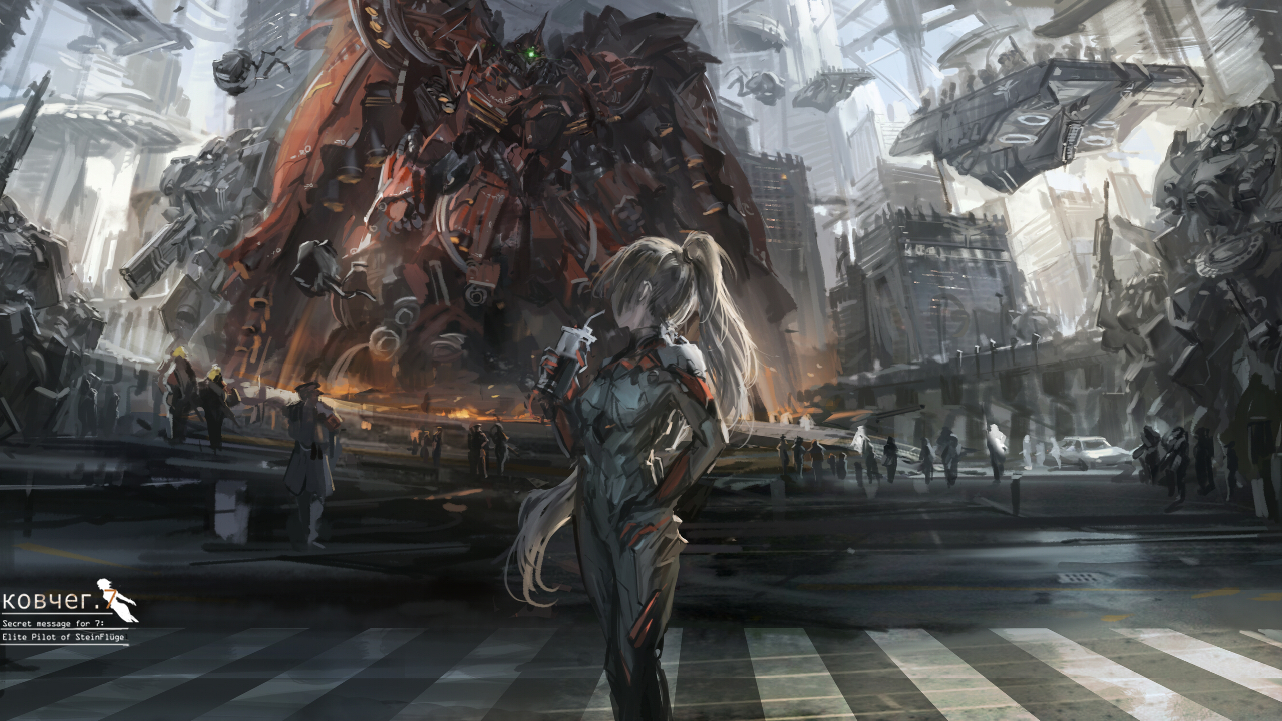 2560x1440 Anime Scifi 1440P Resolution HD 4k Wallpapers ...