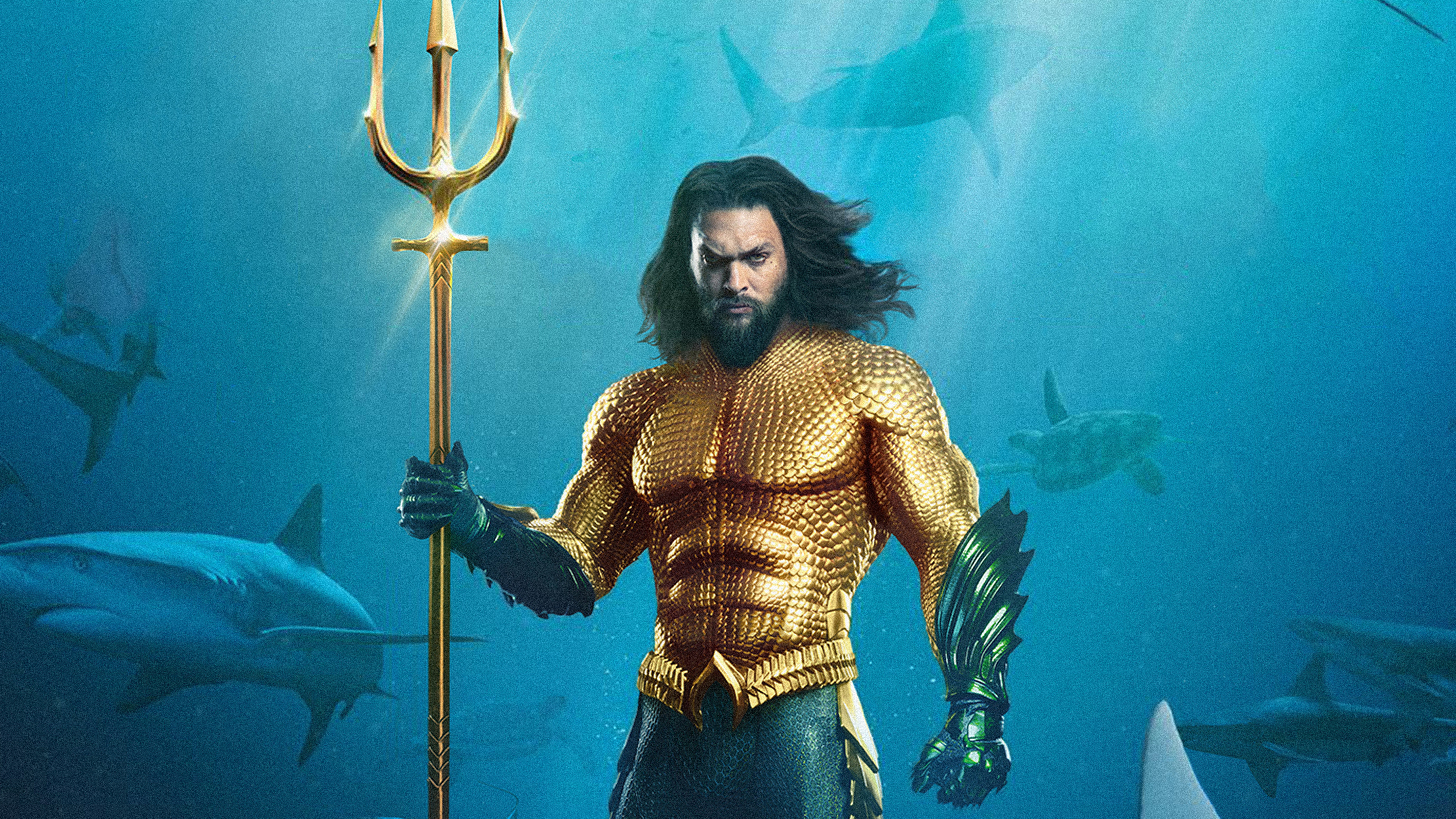 Movie Poster 2019: 3840x2160 Aquaman 5k Movie Poster 4k HD 4k Wallpapers