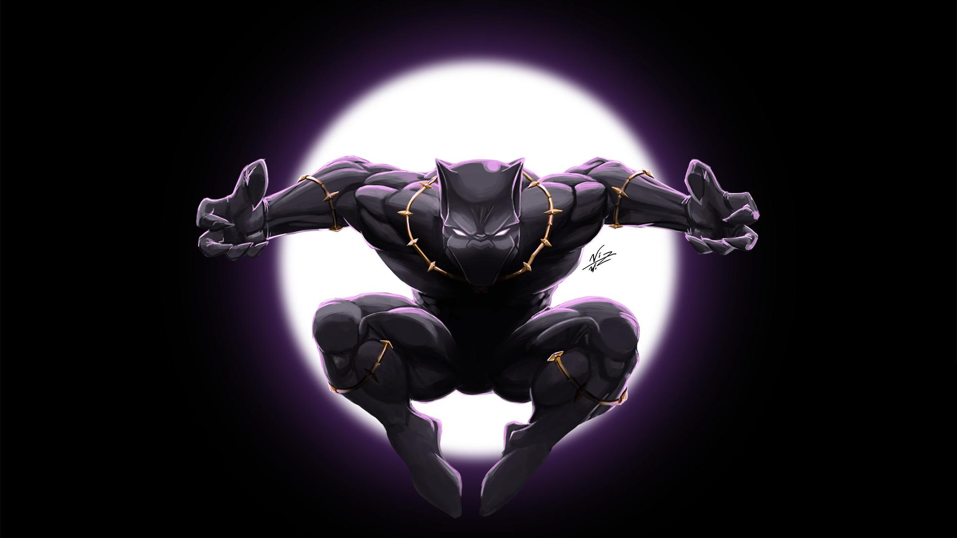 1920x1080 Art Black Panther Laptop Full HD 1080P HD 4k ...