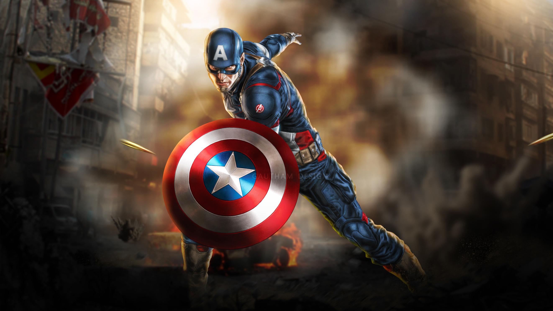 1920x1080 Art Captain America New Laptop Full HD 1080P HD ...