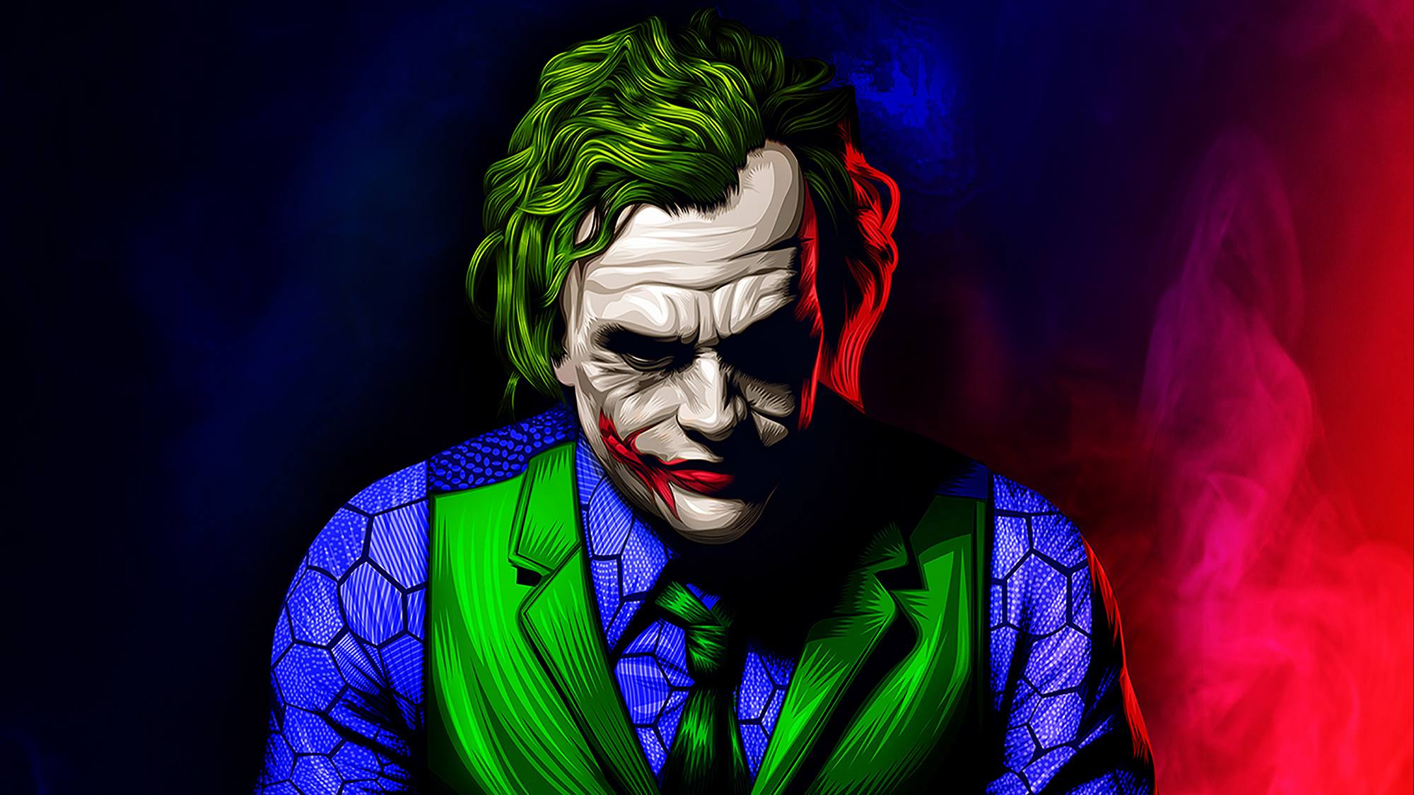 Art Of Joker New, HD Superheroes, 4k Wallpapers, Images ...