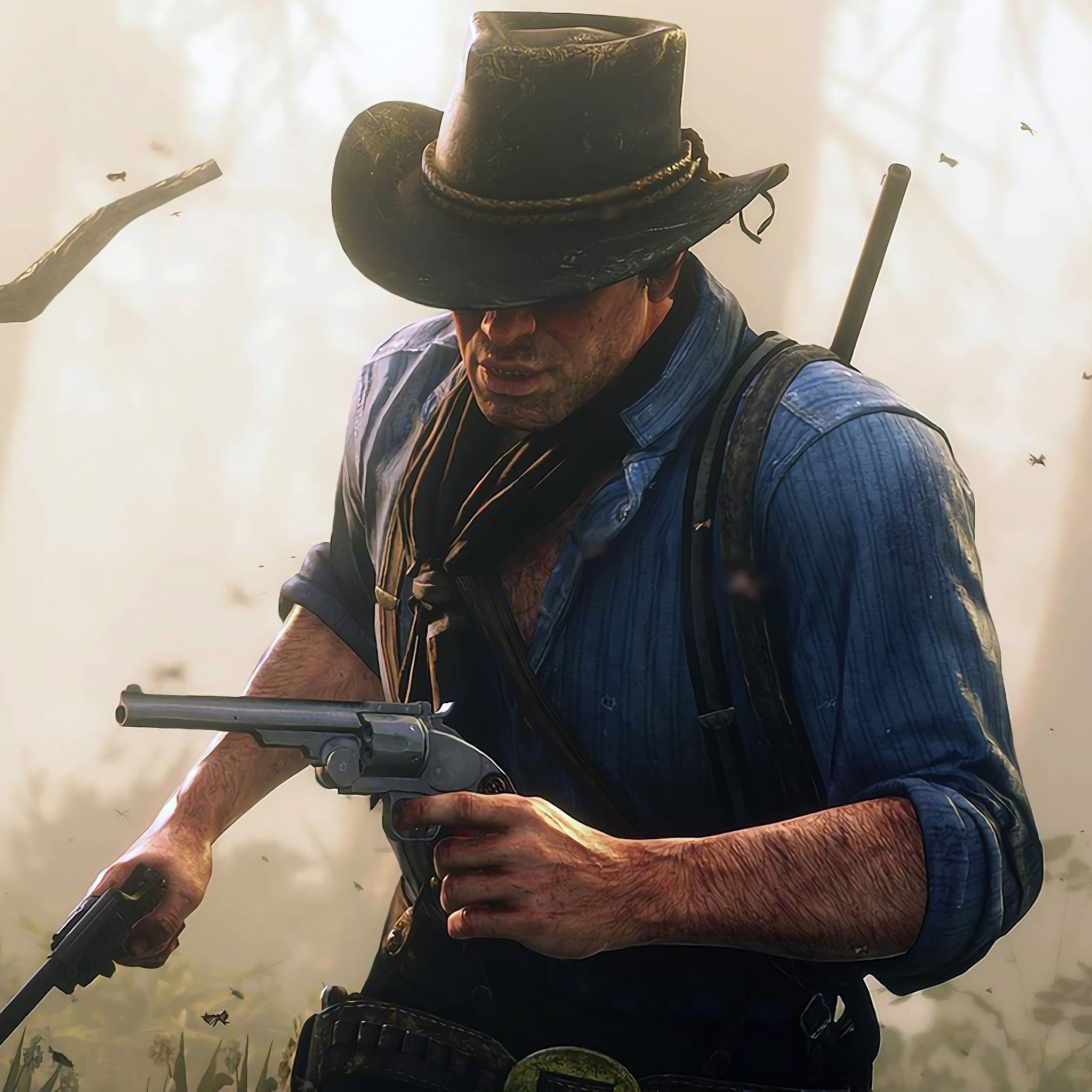 2048x2048 Arthur Morgan Red Dead Redemption 2 Ipad Air HD