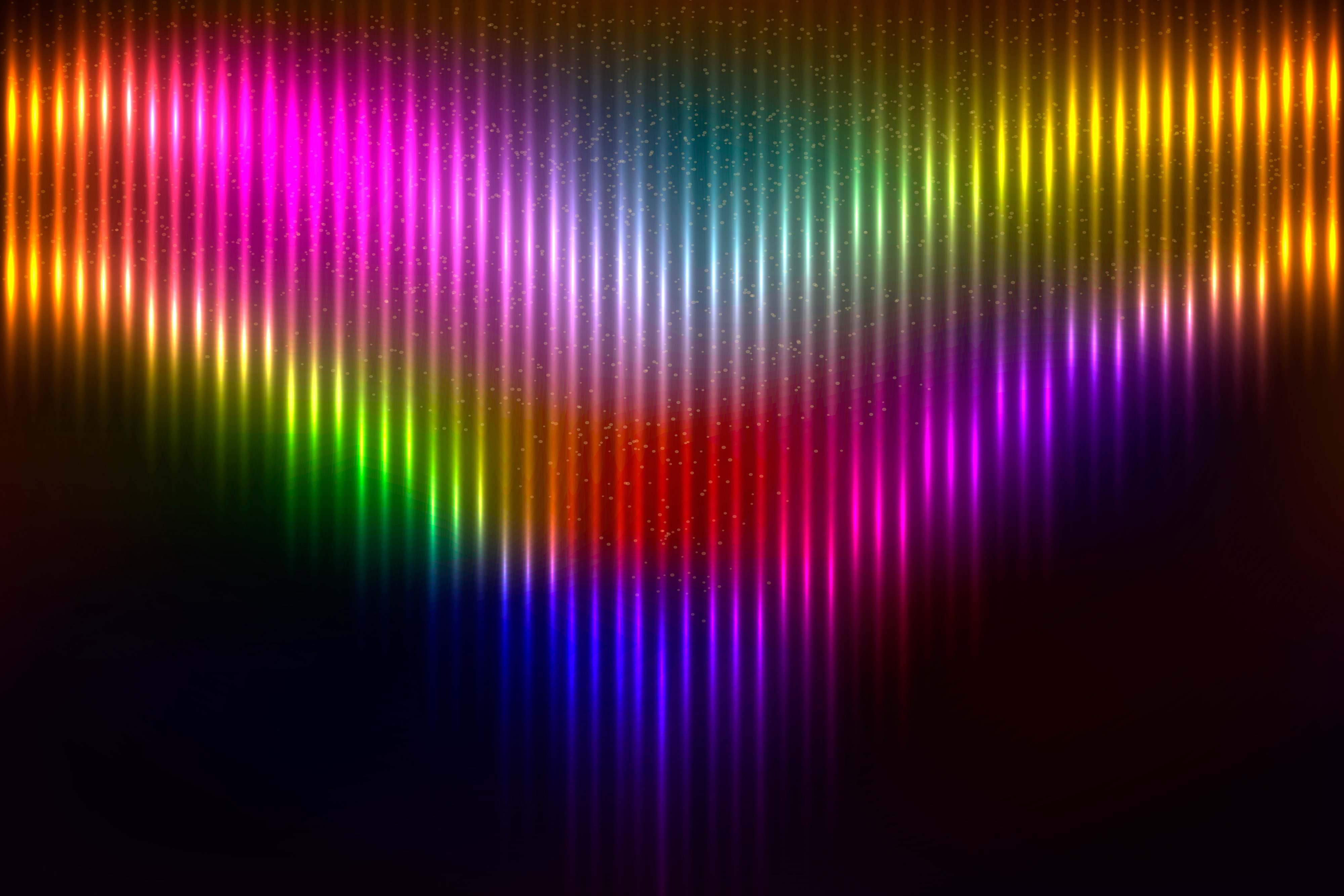 Artistic Colors Rainbow Background 4k, HD Abstract, 4k