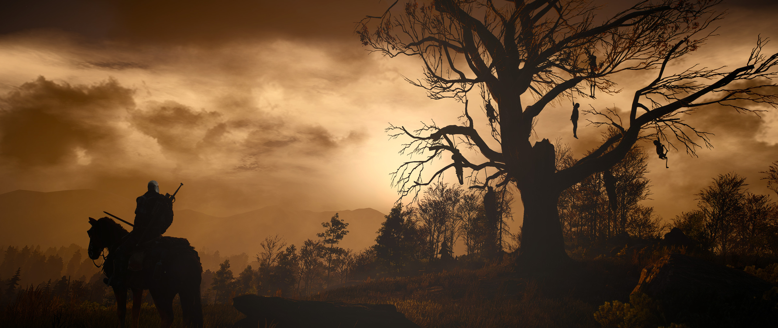 2560x1080 Artwork The Witcher 3 Wild Hunt 2560x1080