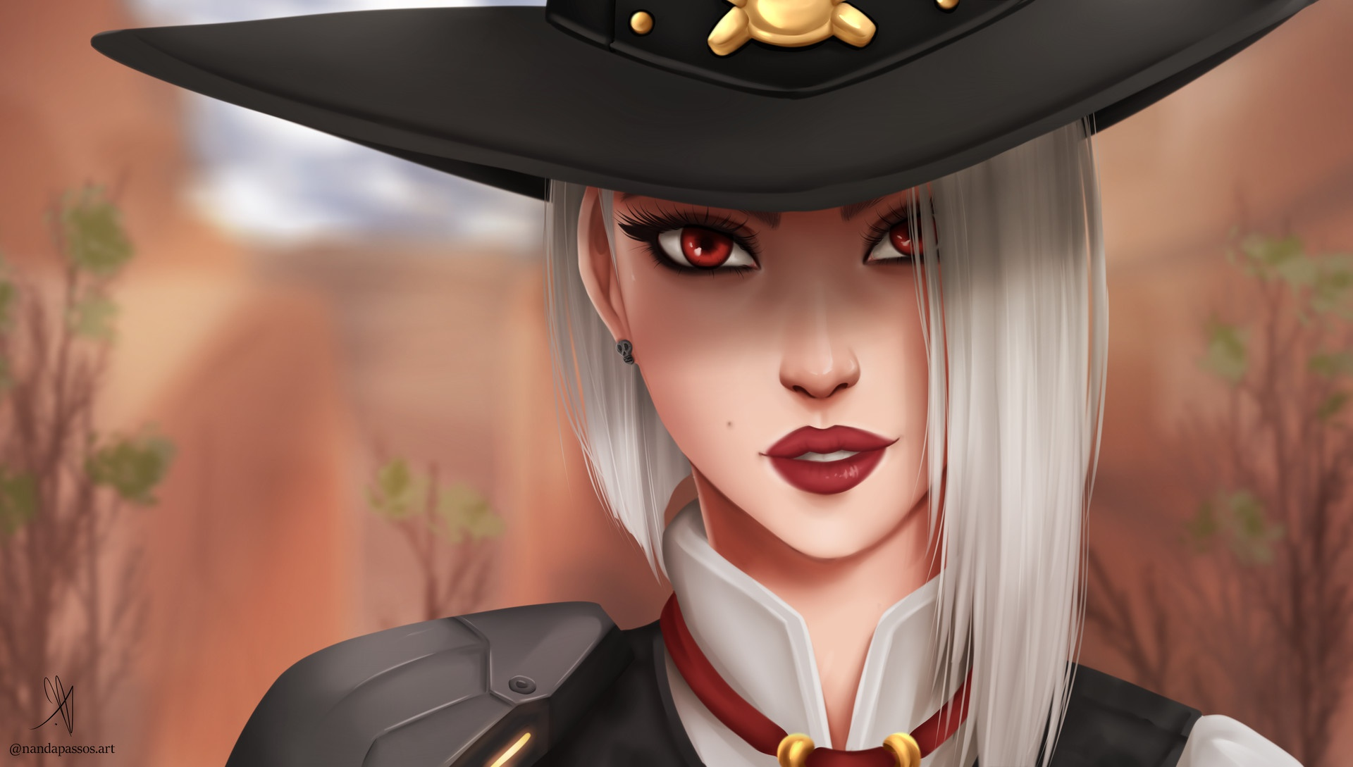 Ashe Overwatch Girl, HD Games, 4k Wallpapers, Images