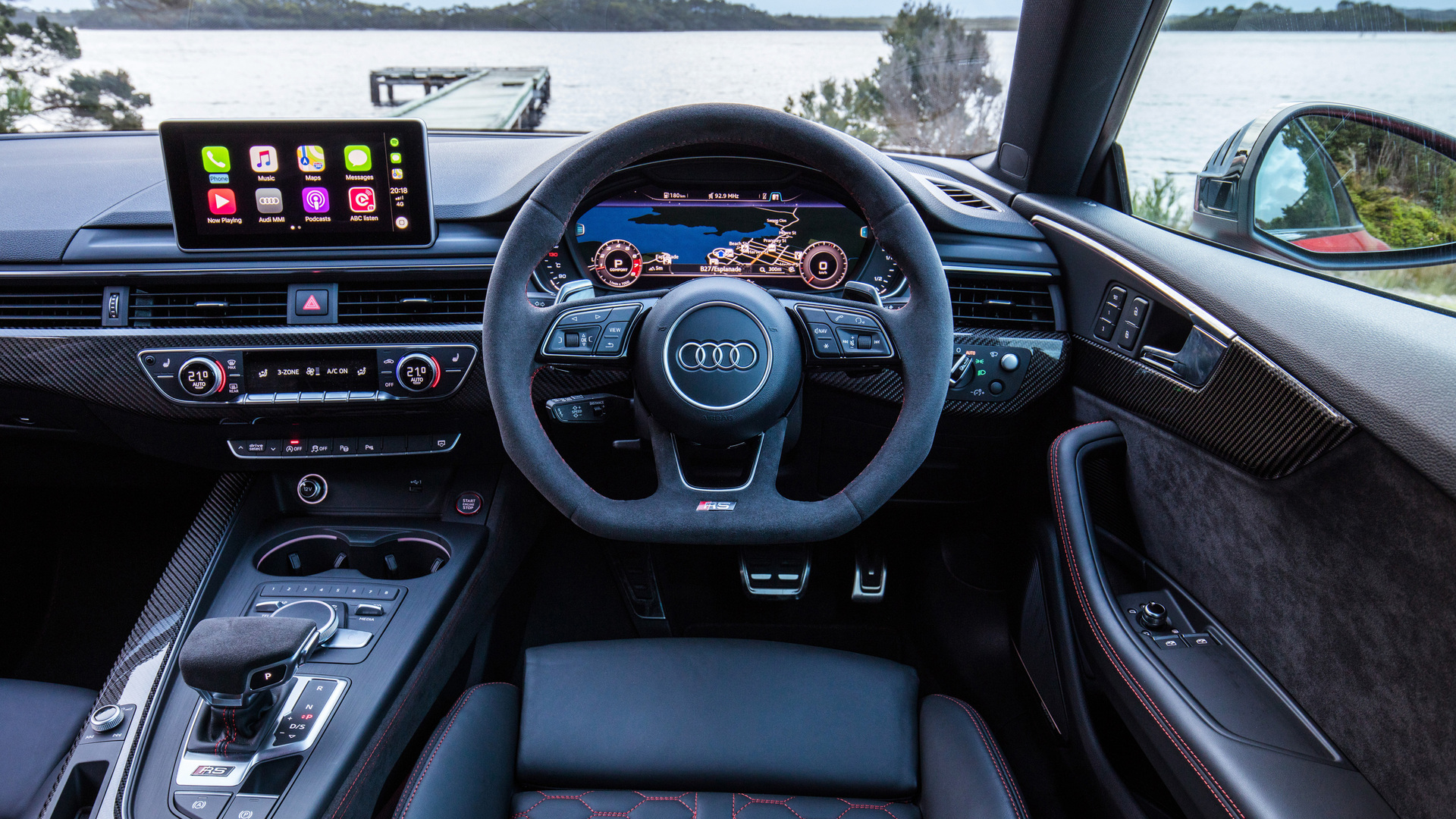 1920x1080 Audi Rs5 Coupe Interior 4k Laptop Full HD 1080P