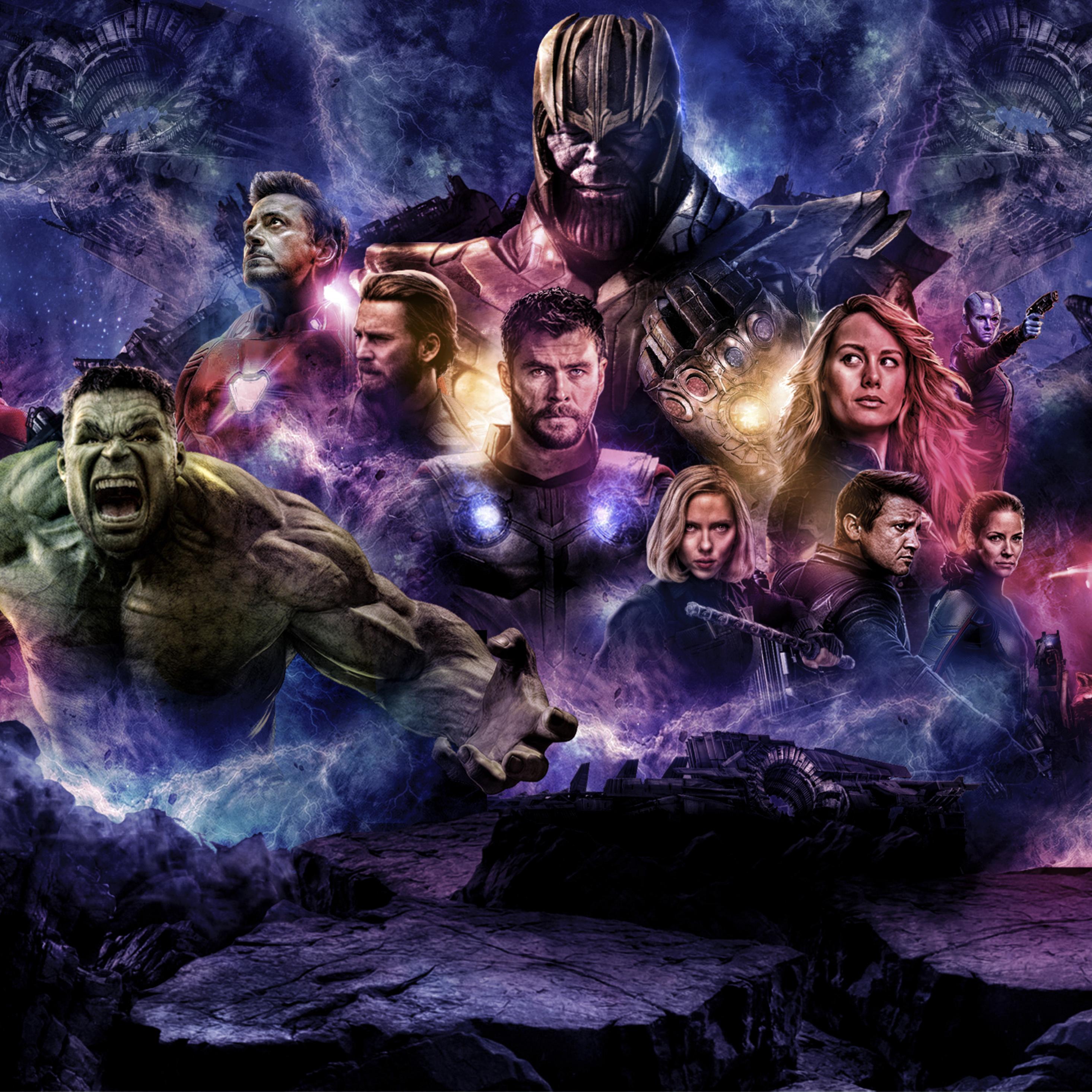 2932x2932 Avengers 4 2019 Movie Poster Ipad Pro Retina
