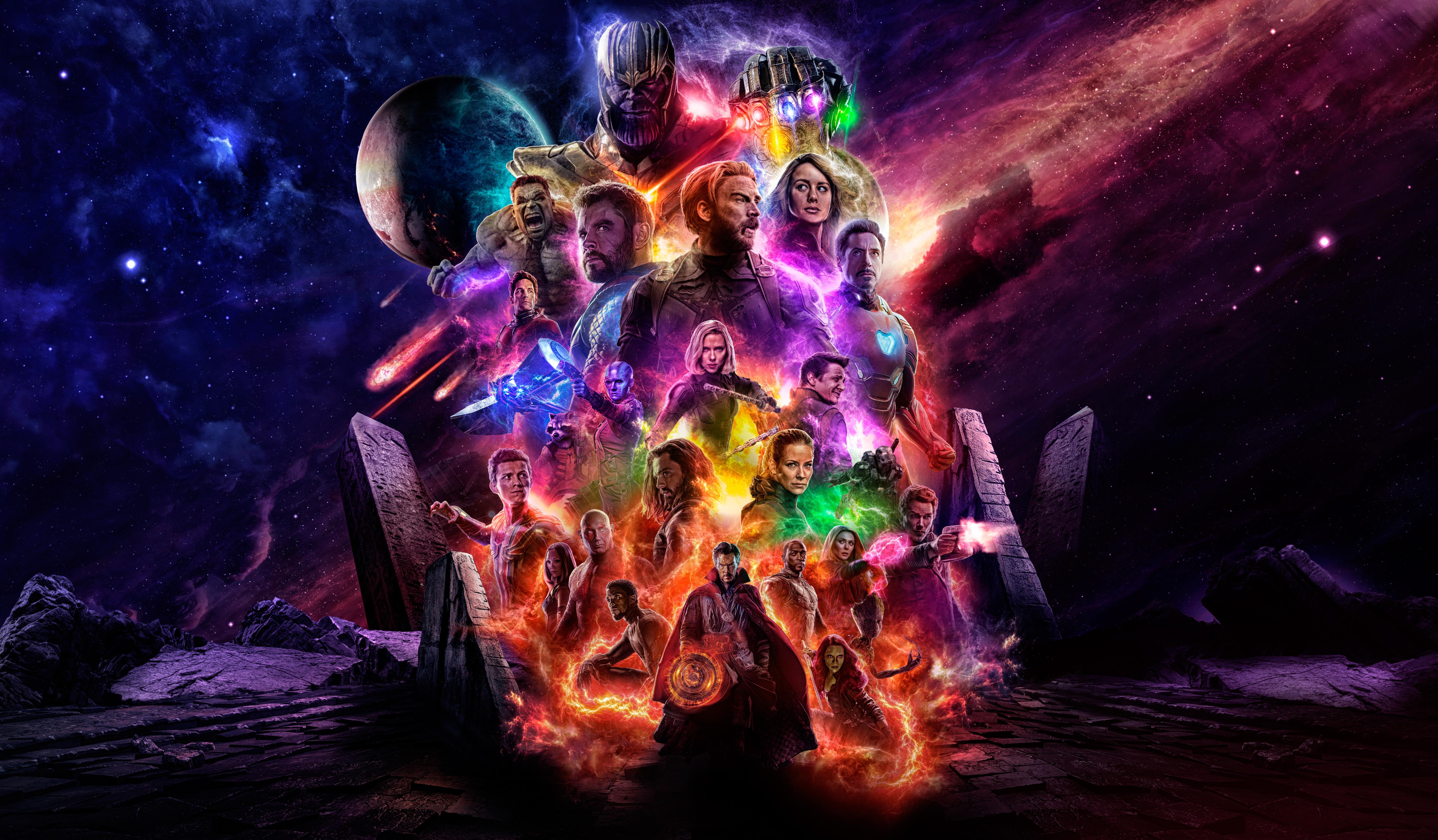 Movie Poster 2019: 1125x2436 Avengers 4 Offical Poster Artwork 2019 5k Iphone