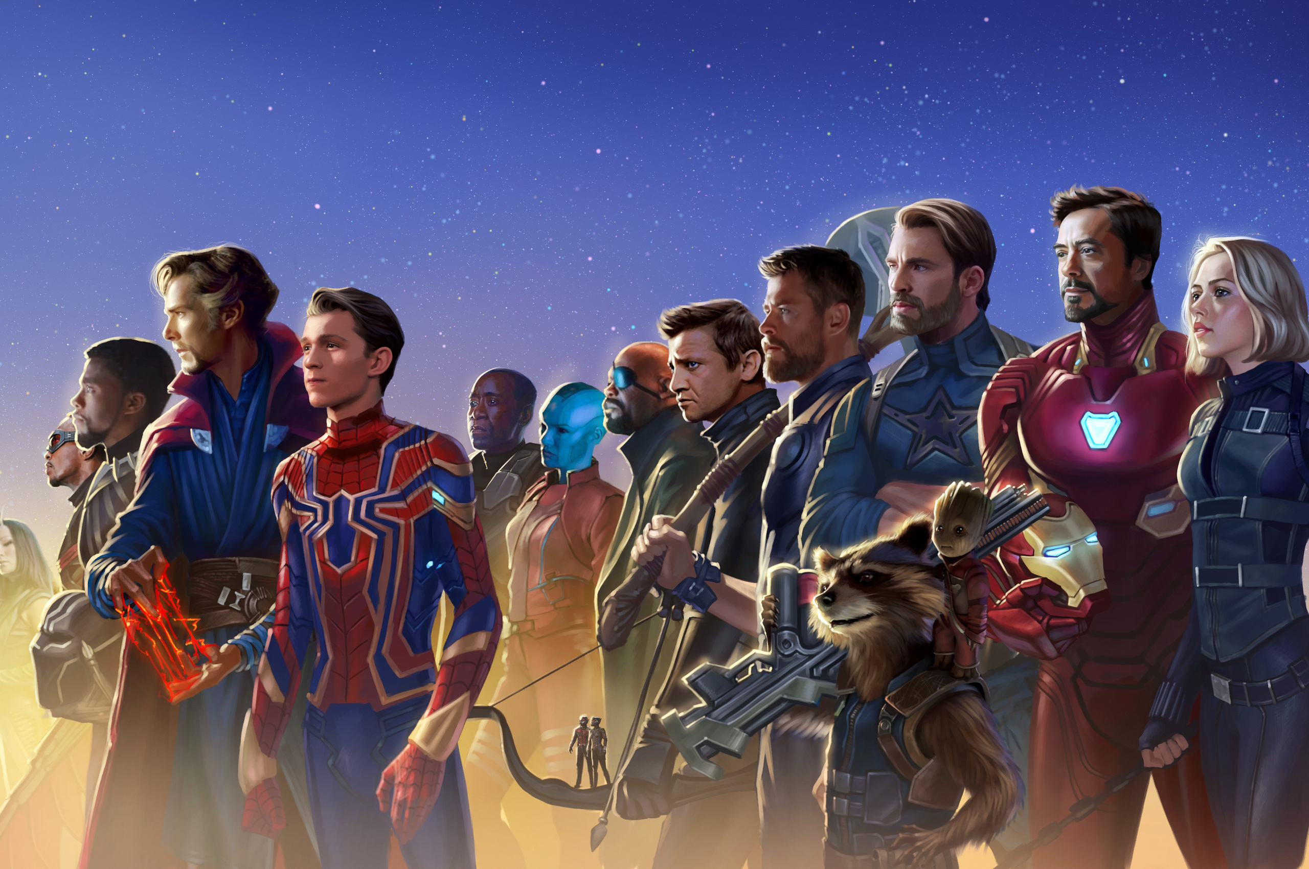 2560x1700 Avengers Infinity War 5k Artwork Chromebook ...