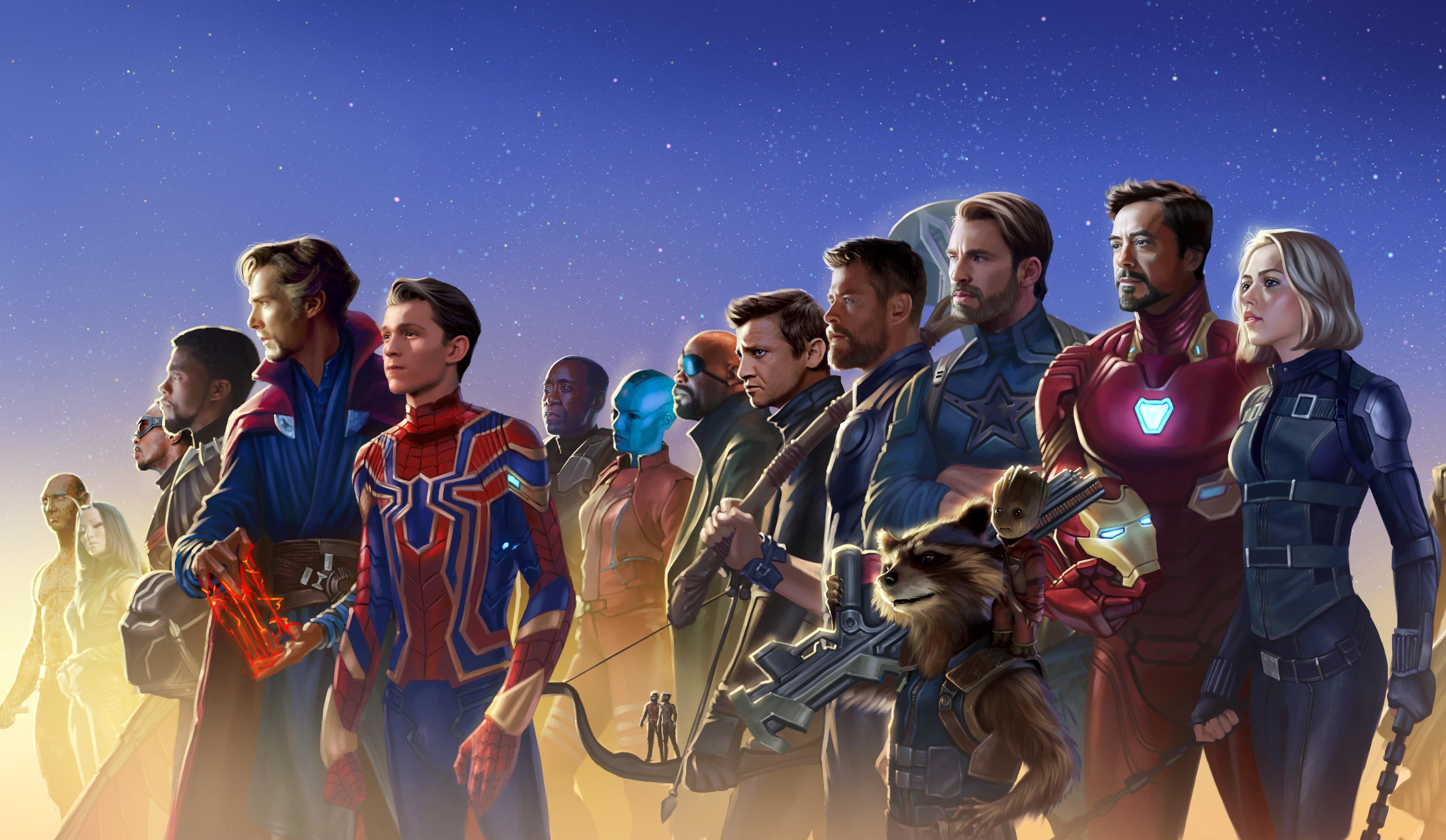 2048x2048 The Incredibles 2 Movie 2018 Ipad Air Hd 4k: 2048x2048 Avengers Infinity War 5k Artwork Ipad Air HD 4k