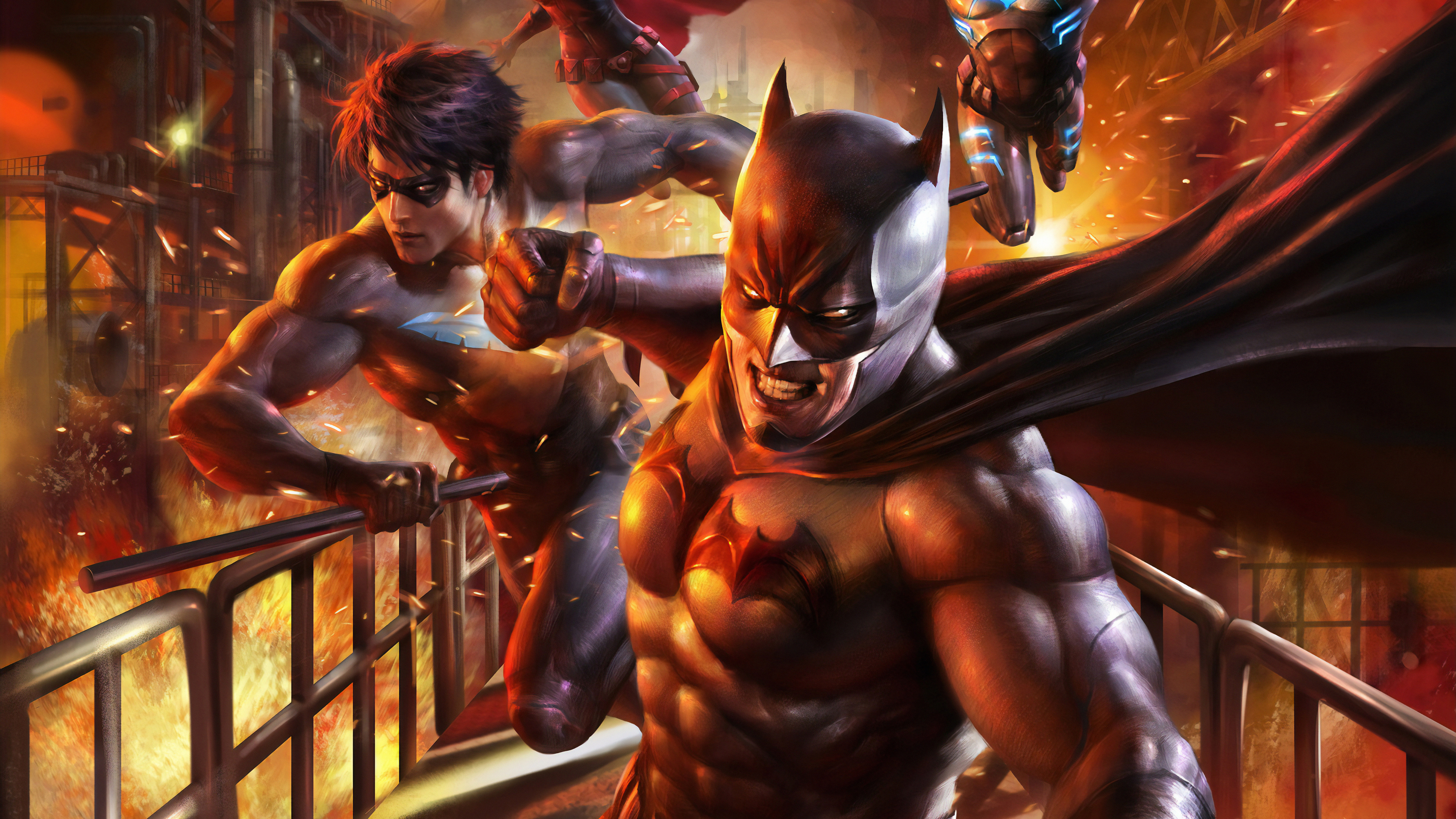 Batman And Nightwing 4k, HD Superheroes, 4k Wallpapers ...