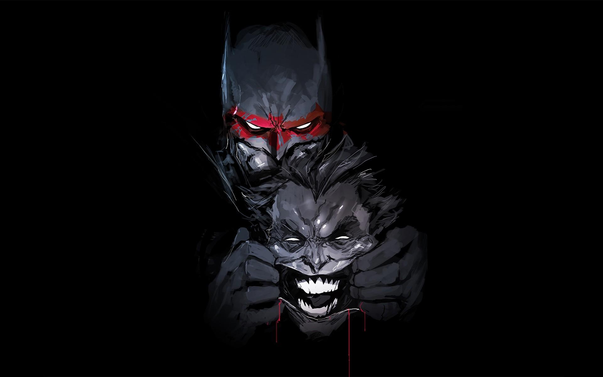 batman joker artwork hd artist 4k wallpapers images