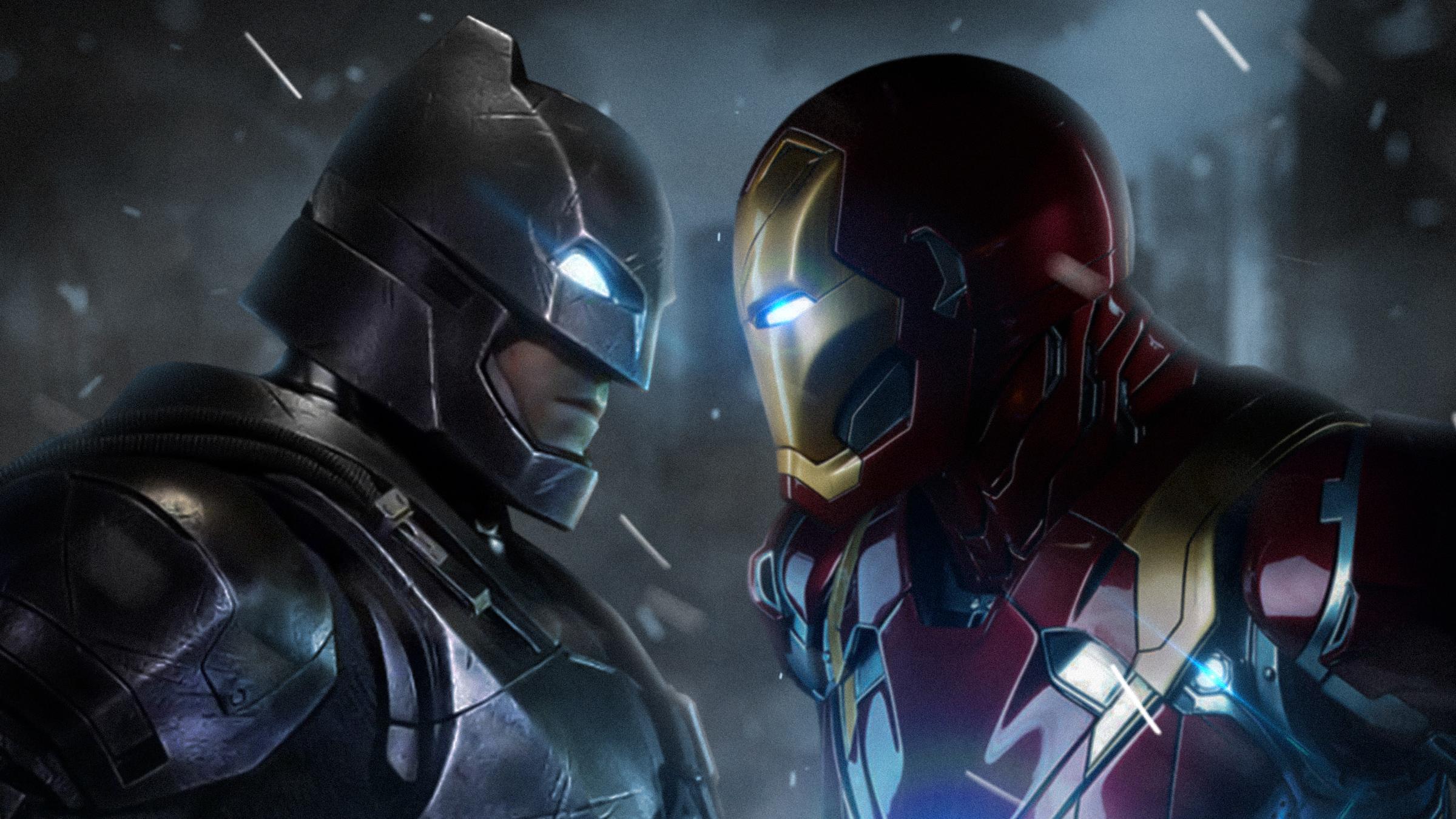 Batman Vs Iron Man, HD Superheroes, 4k Wallpapers, Images ...