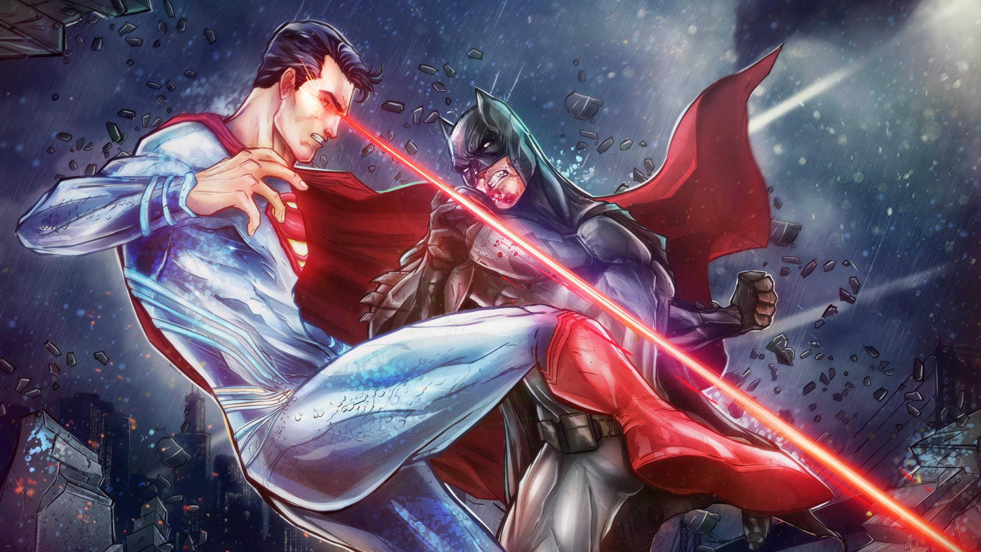 Batman Vs Superman Arts, HD Superheroes, 4k Wallpapers ...
