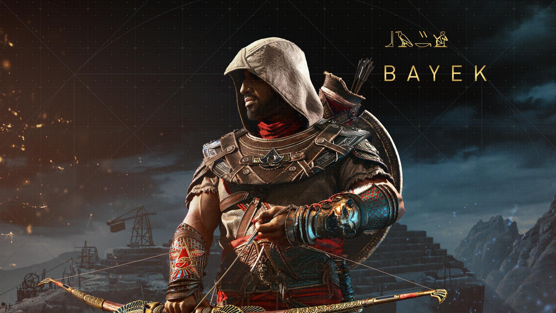 1920x1080 Bayek Assassins Creed Origins 8k Laptop Full HD ...