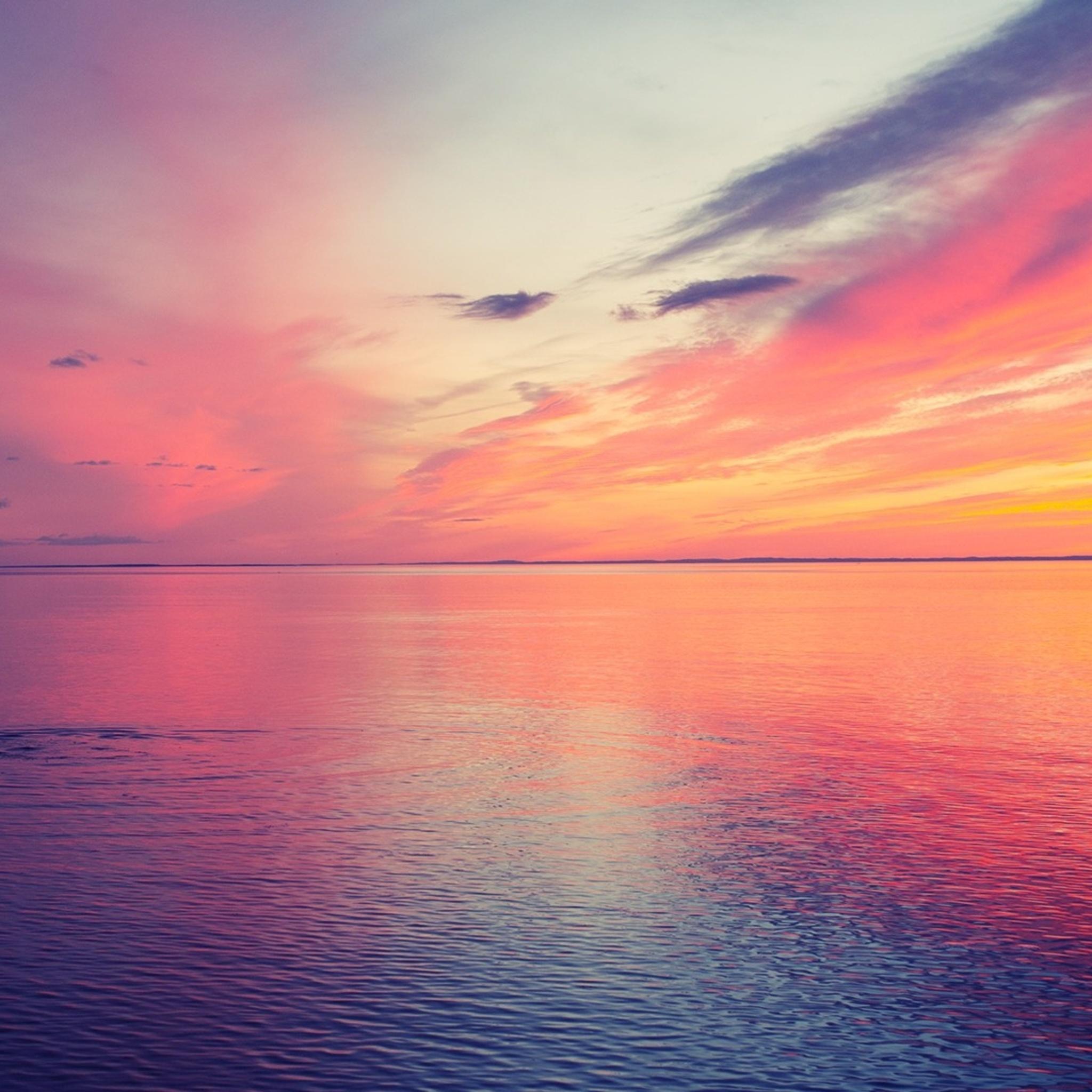 2048x2048 Beautiful Sunset 2 Ipad Air HD 4k Wallpapers