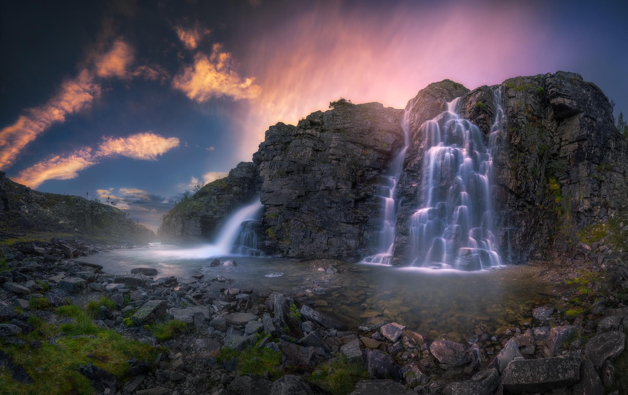 Beautiful Waterfall, HD Nature, 4k Wallpapers, Images ...