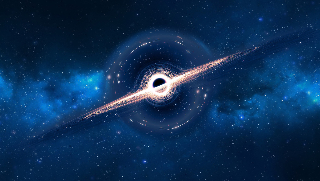 1360x768 Black Hole Laptop HD HD 4k Wallpapers, Images ...