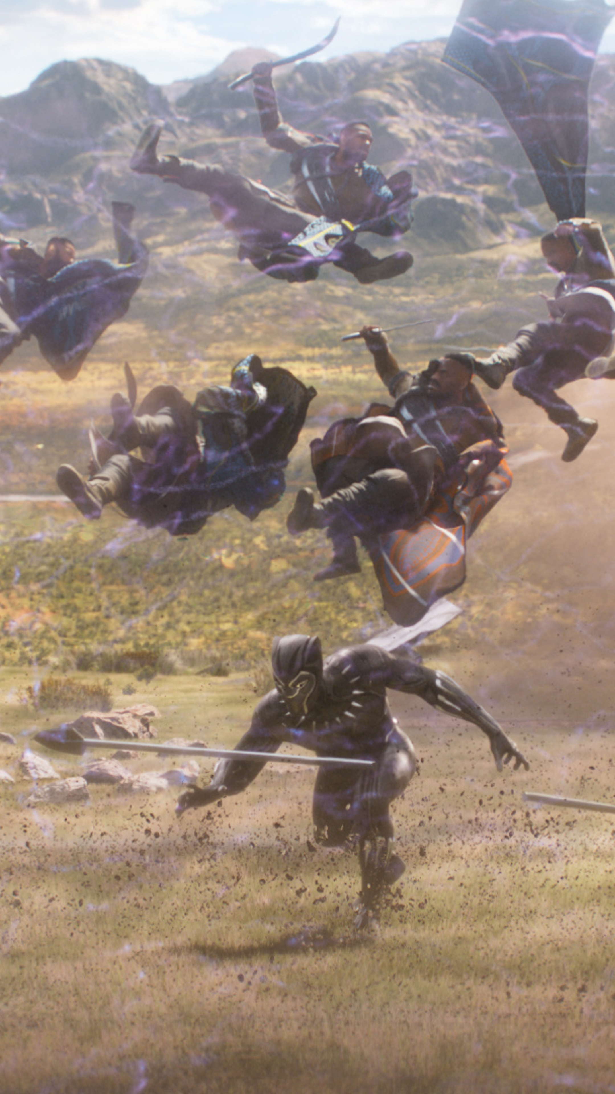 Fight Scenes Are Like Learning A Dance You Learn It Move: 2160x3840 Black Panther 2018 Movie Fight Scene Sony Xperia