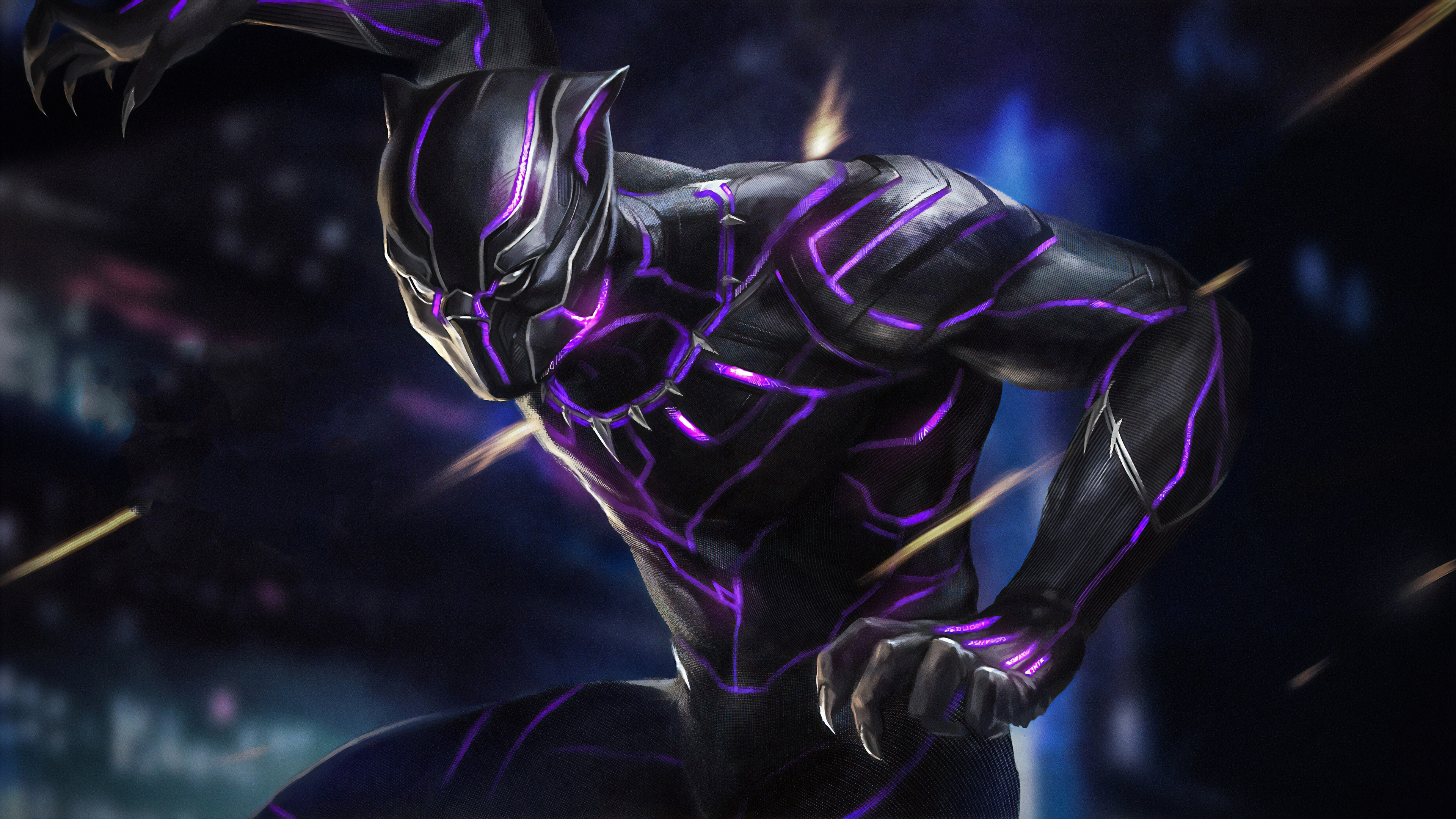 3840x2160 Black Panther 4k New 4k HD 4k Wallpapers, Images ...