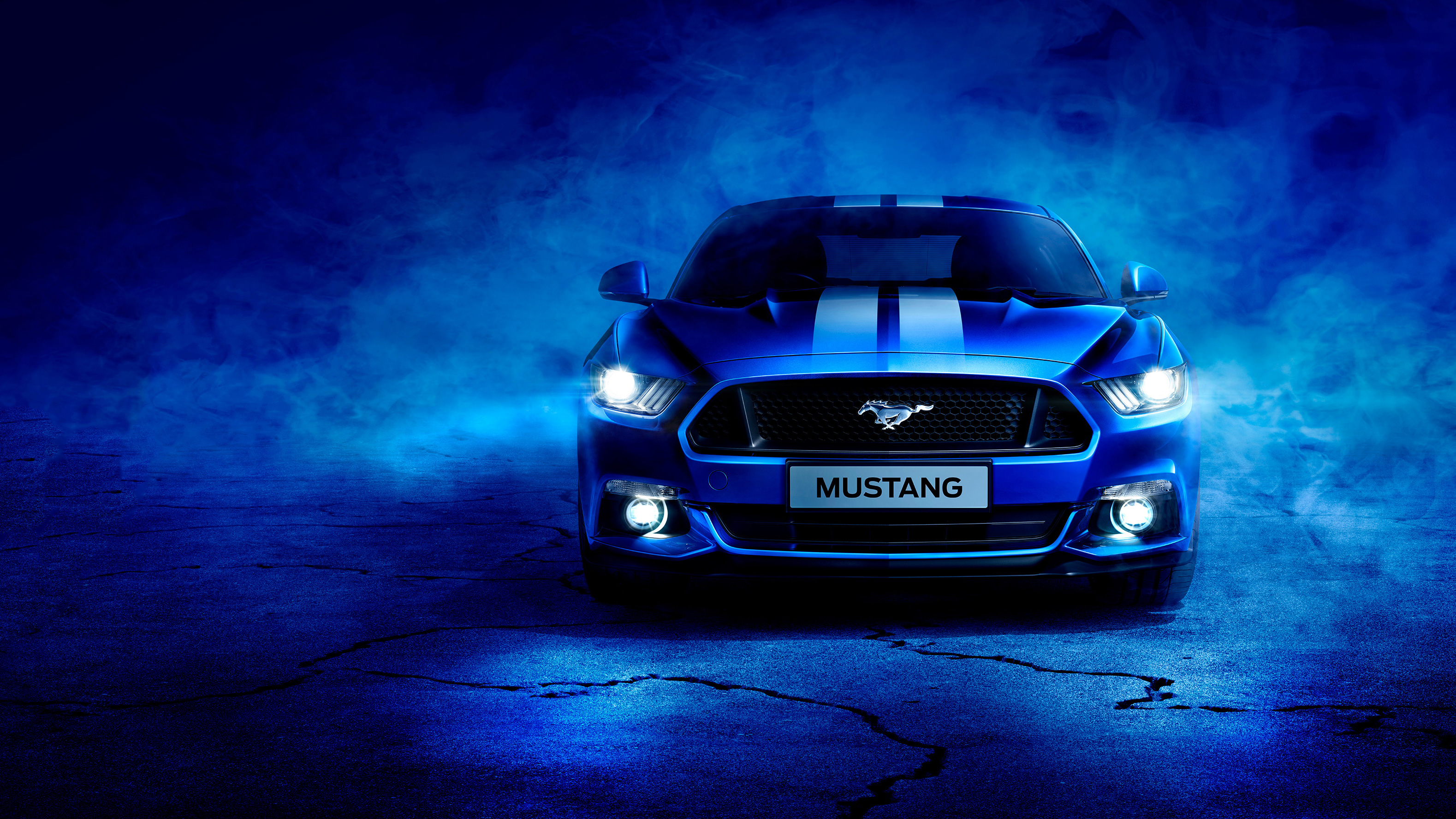 blue ford mustang hd cars 4k wallpapers images