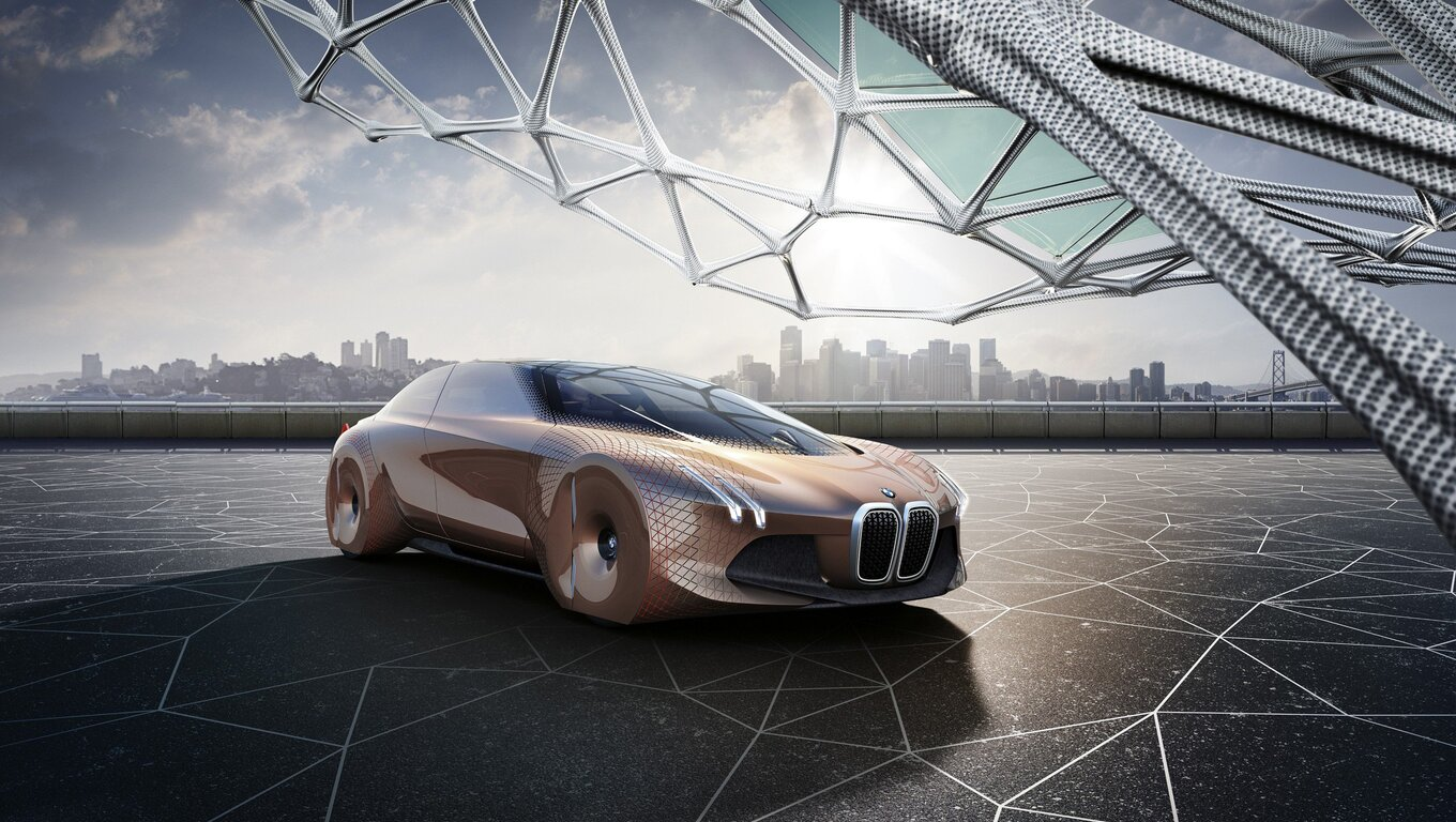 Bmw Cars Photos Free Download: 1360x768 Bmw Vision Concept Car Laptop HD HD 4k Wallpapers