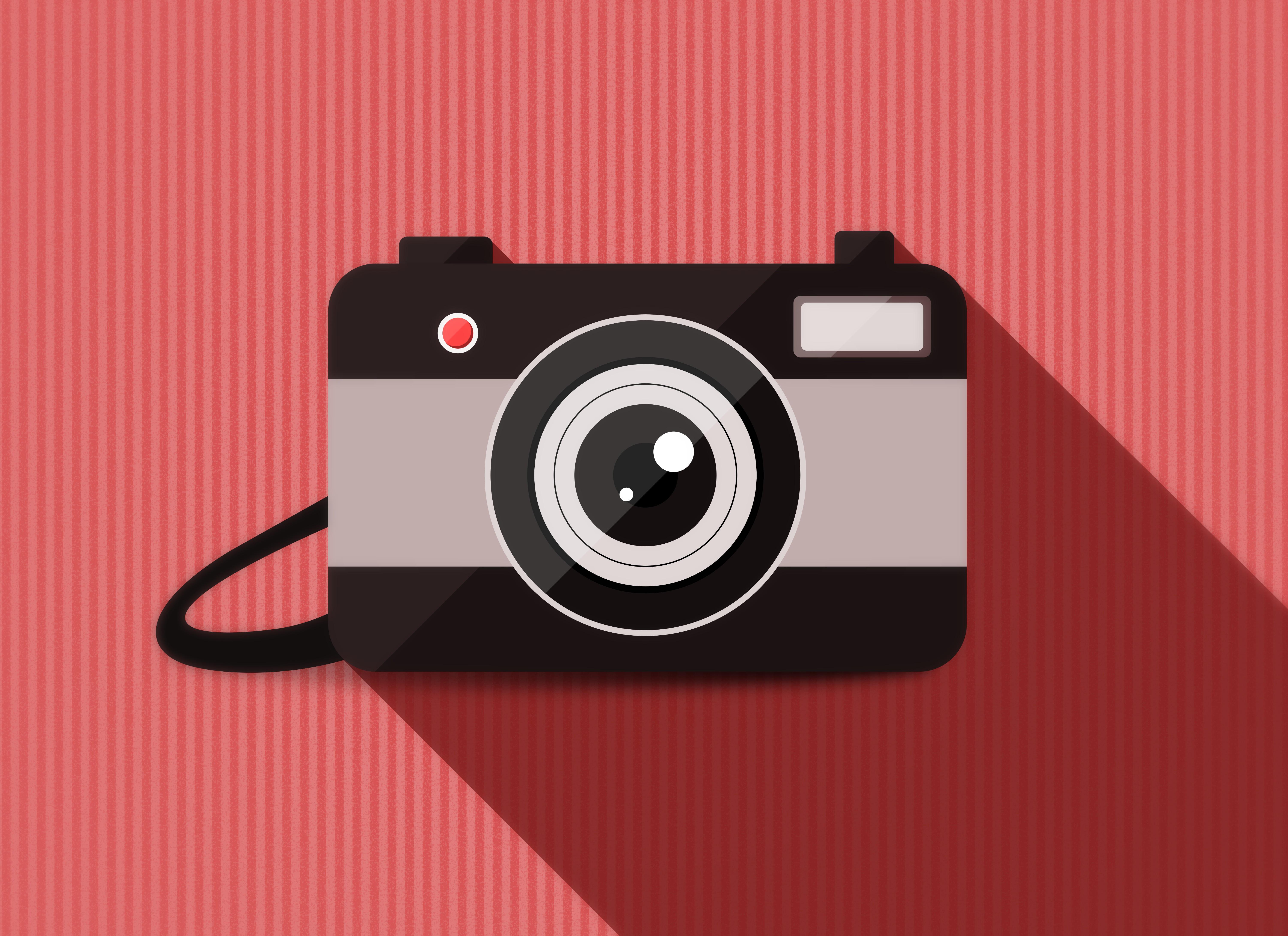 Iphone 6s Plus 4k Wallpaper: 1080x1920 Camera Vector Minimalism 4k 5k Iphone 7,6s,6