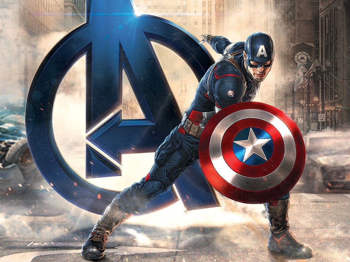 1152x864 Captain America Avengers 1152x864 Resolution HD
