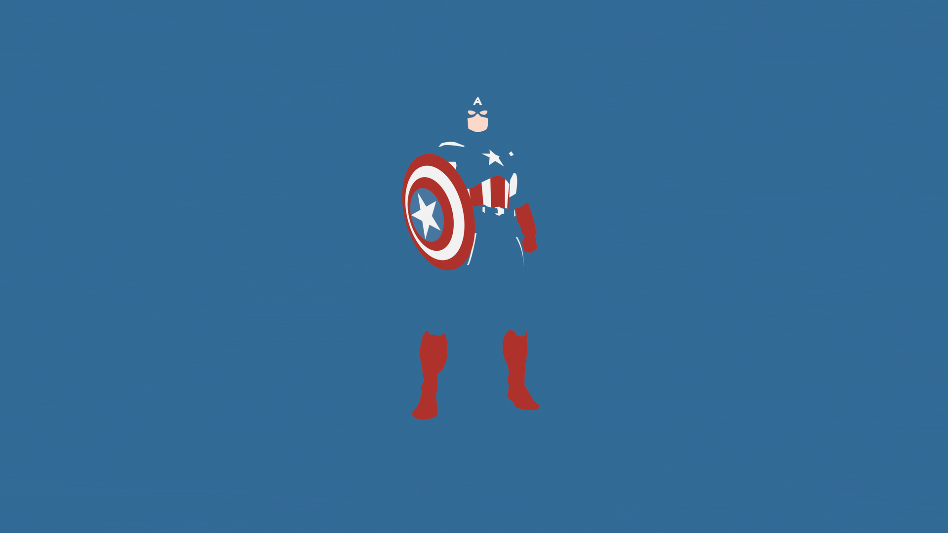Captain Marvel Fantasy Art Wallpapers Hd Desktop And: Captain America Marvel Comics Minimalism, HD Artist, 4k