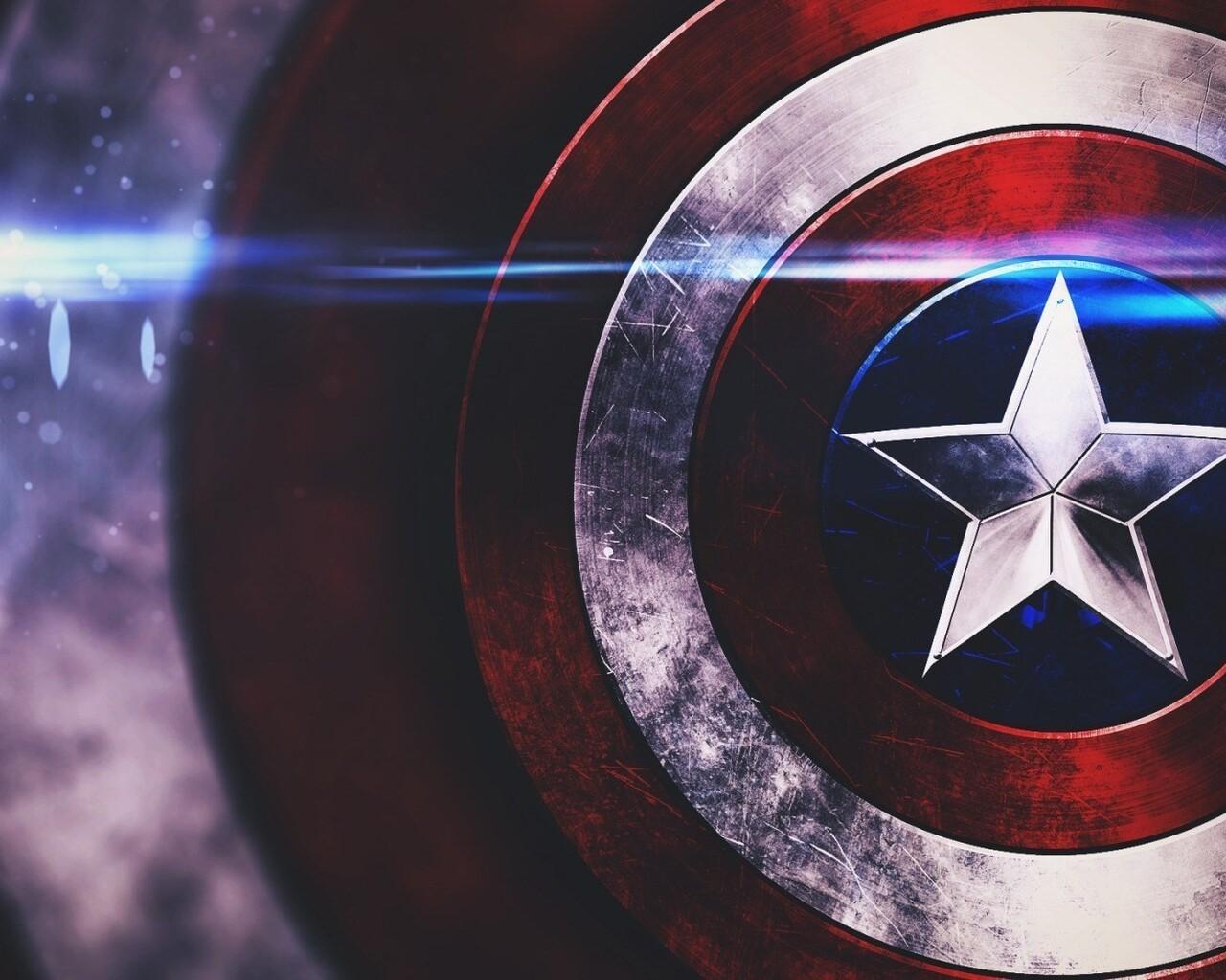 1280x1024 Captain America Shield 1280x1024 Resolution HD ...