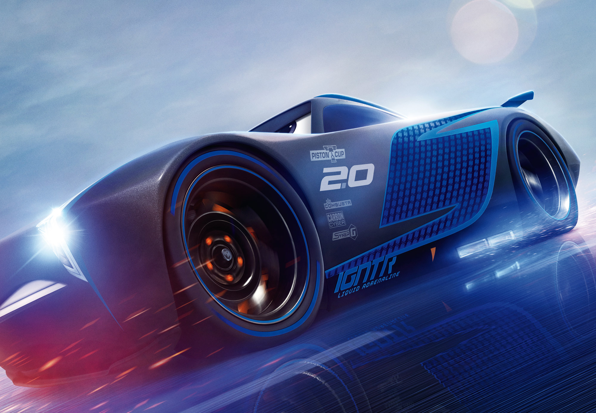Cars 3 jackson storm hd hd movies 4k wallpapers images - Cars 3 wallpaper ...