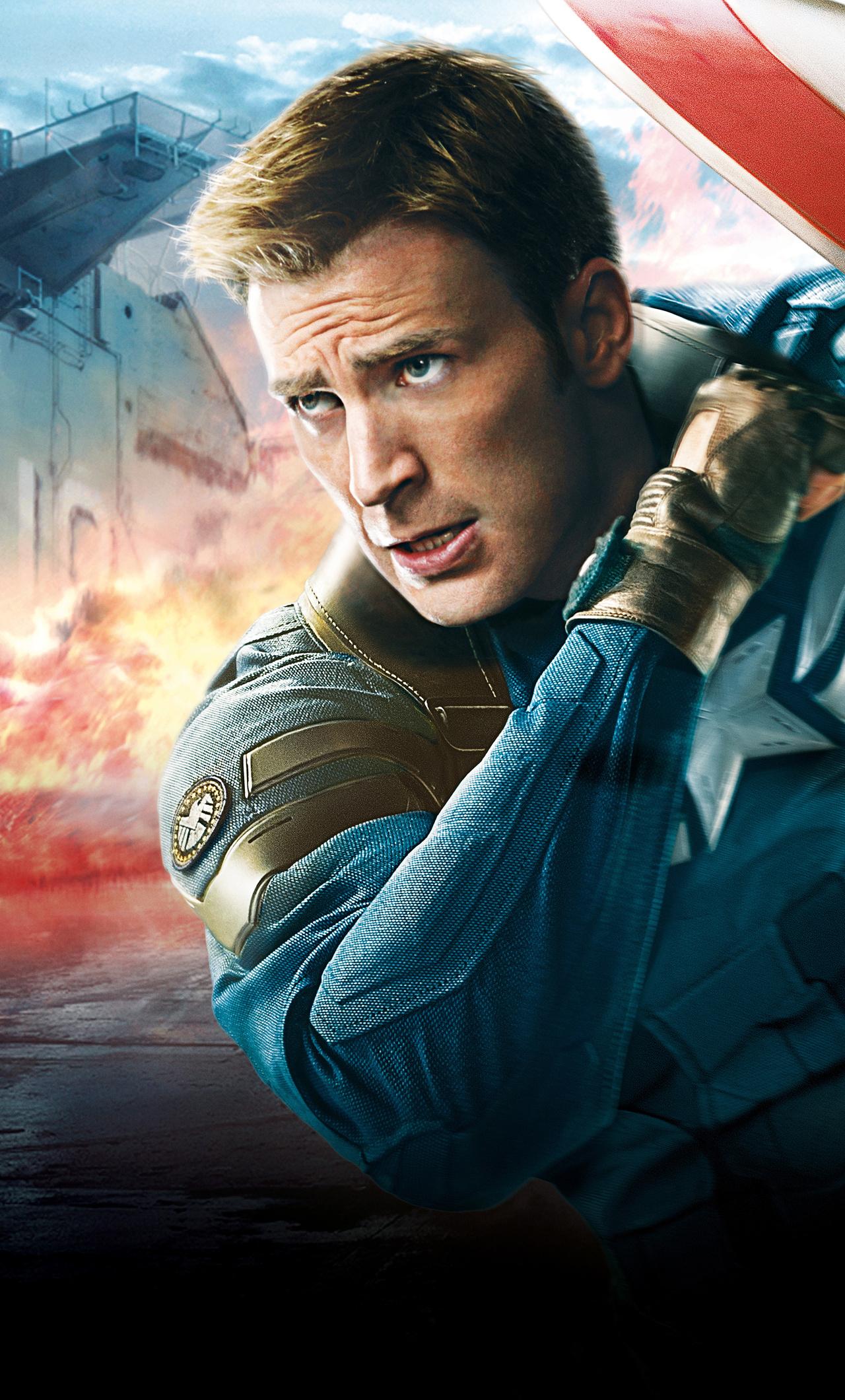 1280x2120 Chris Evans Captain America Army 8k iPhone 6+ HD ...