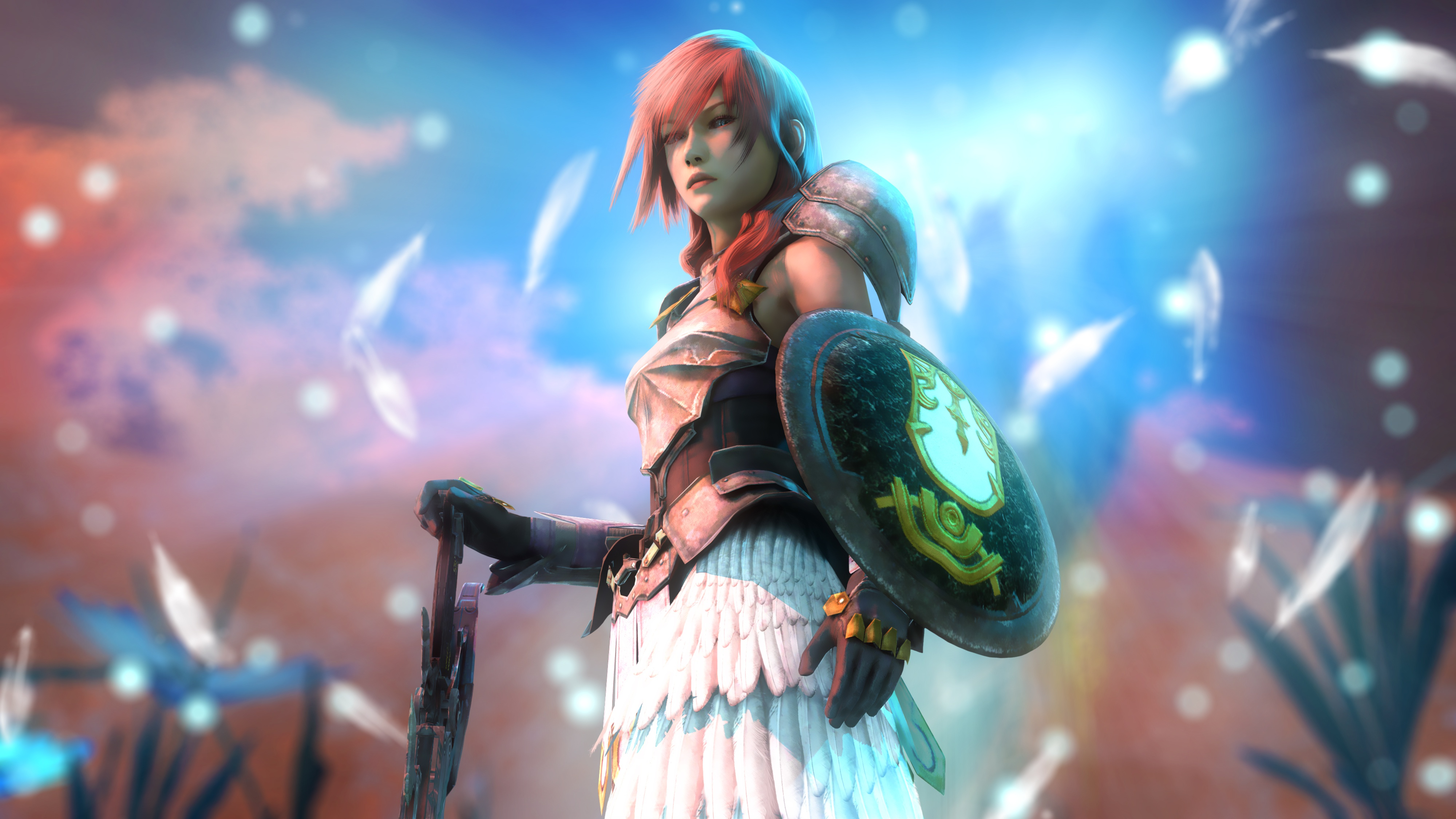 Final Fantasy 4k Hd Games 4k Wallpapers Images: 3840x2160 Claire Farron Final Fantasy Video Game Artwork