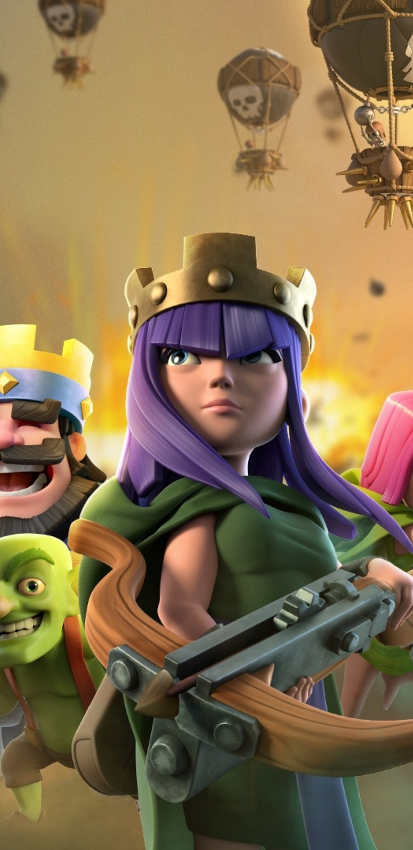 1440x2960 clash of clans clash royale supercell games samsung galaxy note 9 8 s9 s8 s8 qhd hd - Clash royale 2560x1440 ...