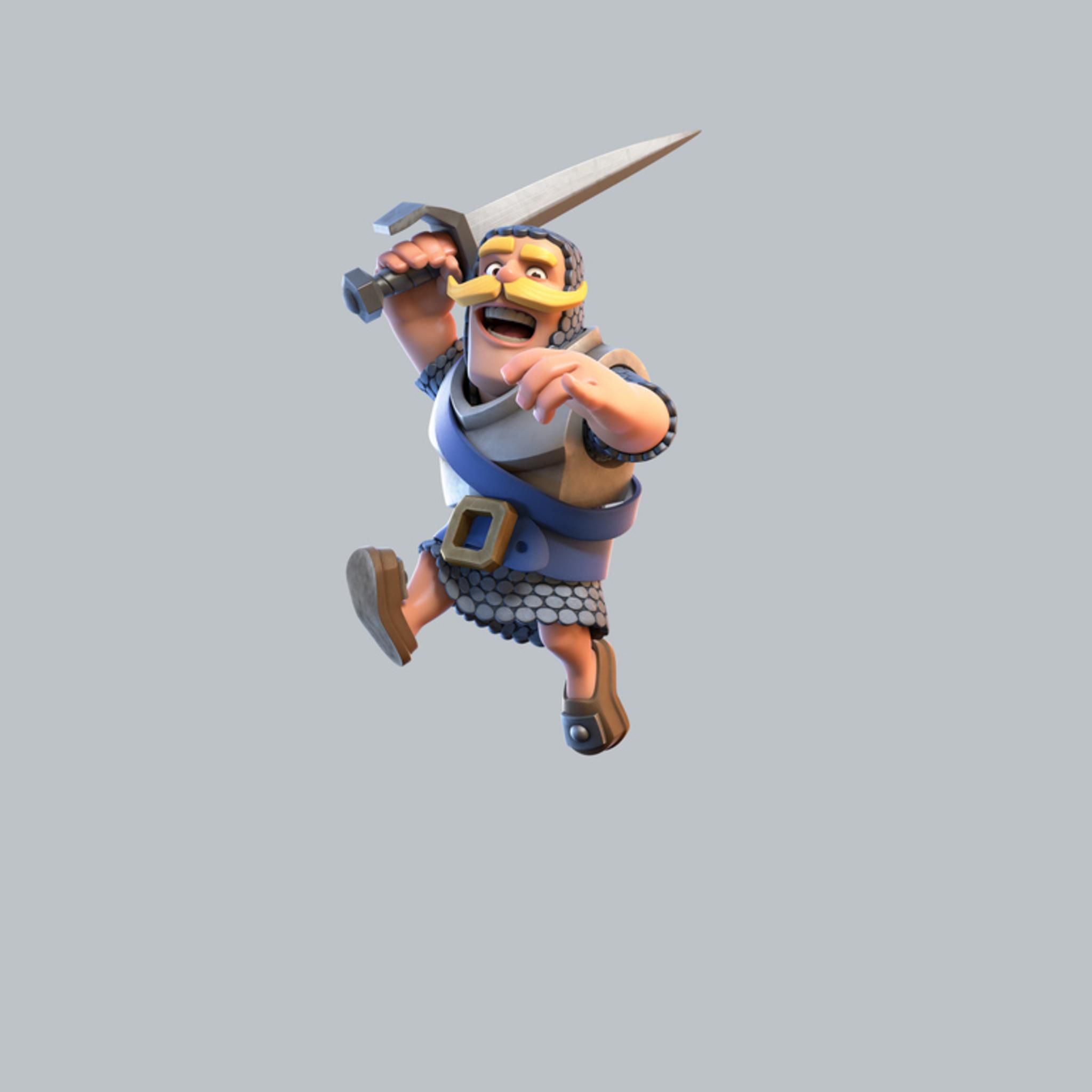 2048x2048 Clash Royale Knight Ipad Air HD 4k Wallpapers ...