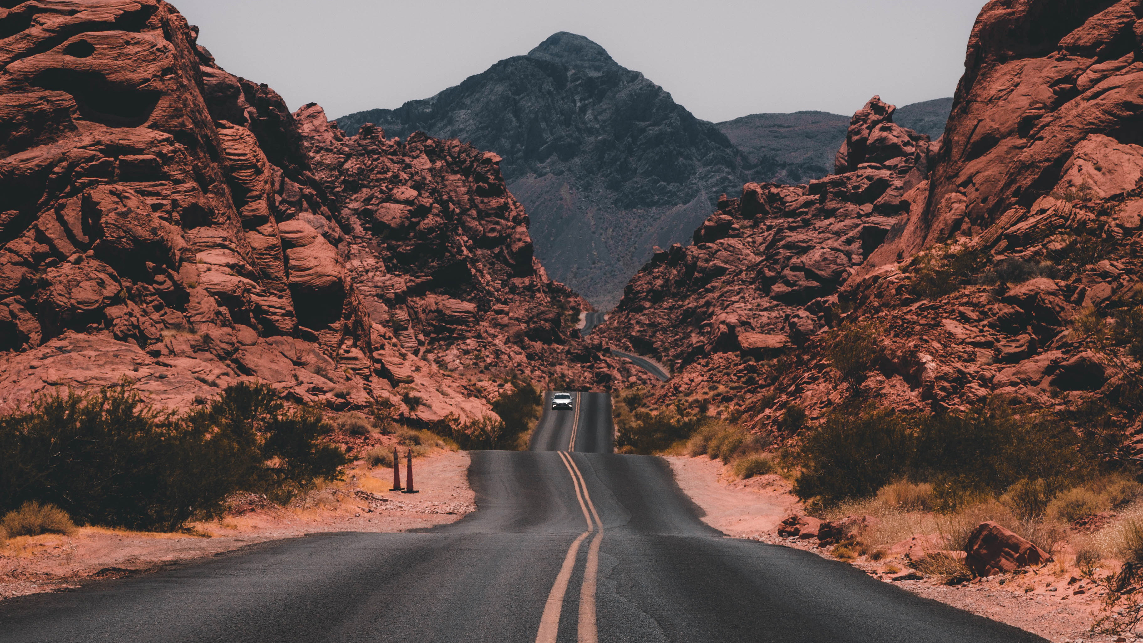 Cliff valley road rocks 4k hd nature 4k wallpapers images backgrounds photos and pictures - Background images 4k hd ...