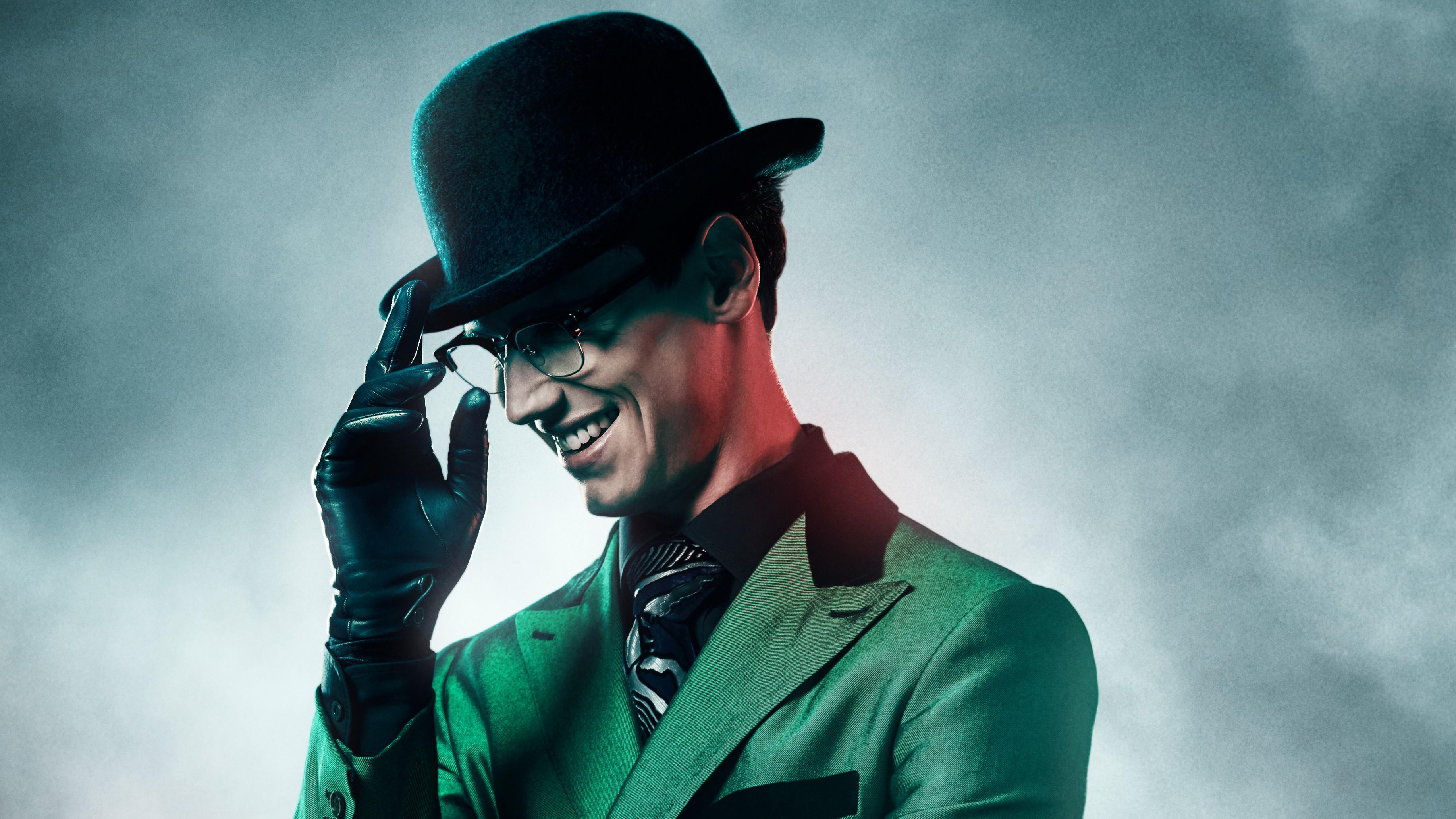 1600x900 cory michael smith as the riddler in gotham - Gotham wallpaper ...