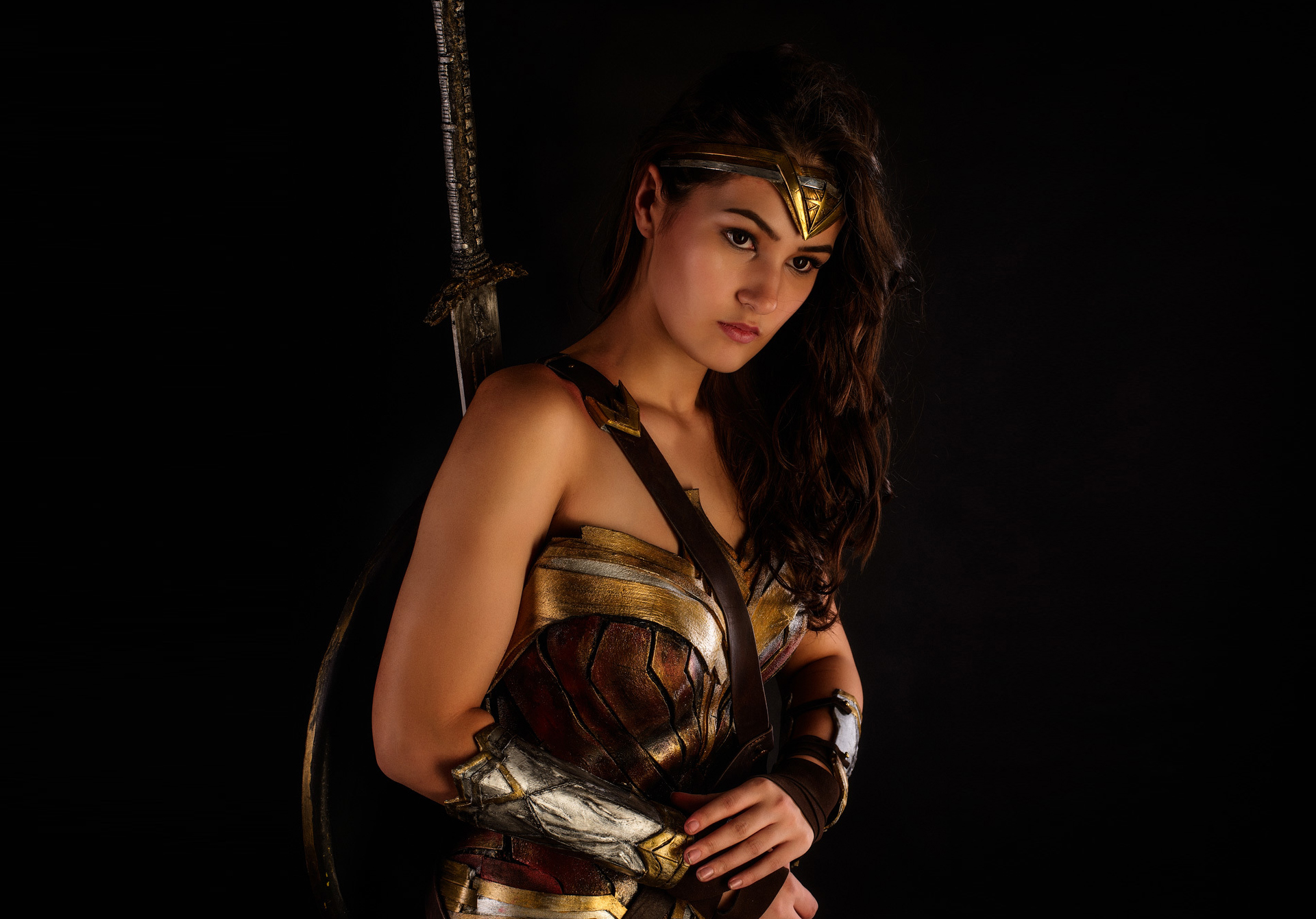 Wonder Woman Movie Wallpaper 1: Cosplay Wonder Woman, HD Movies, 4k Wallpapers, Images