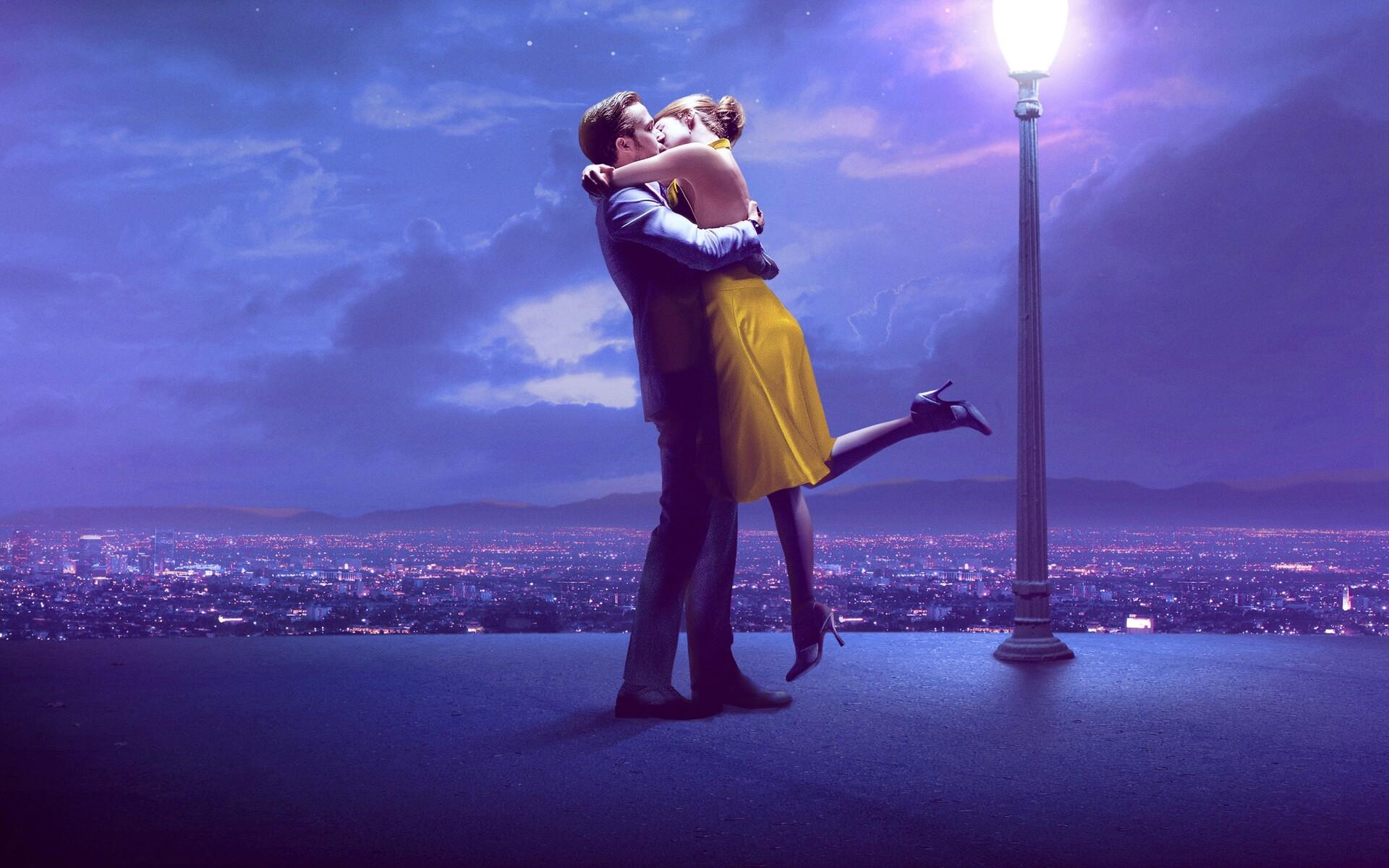 1920x1200 couple kissing 4k ryan gosling emma stone 1080p - 4k kiss wallpaper ...