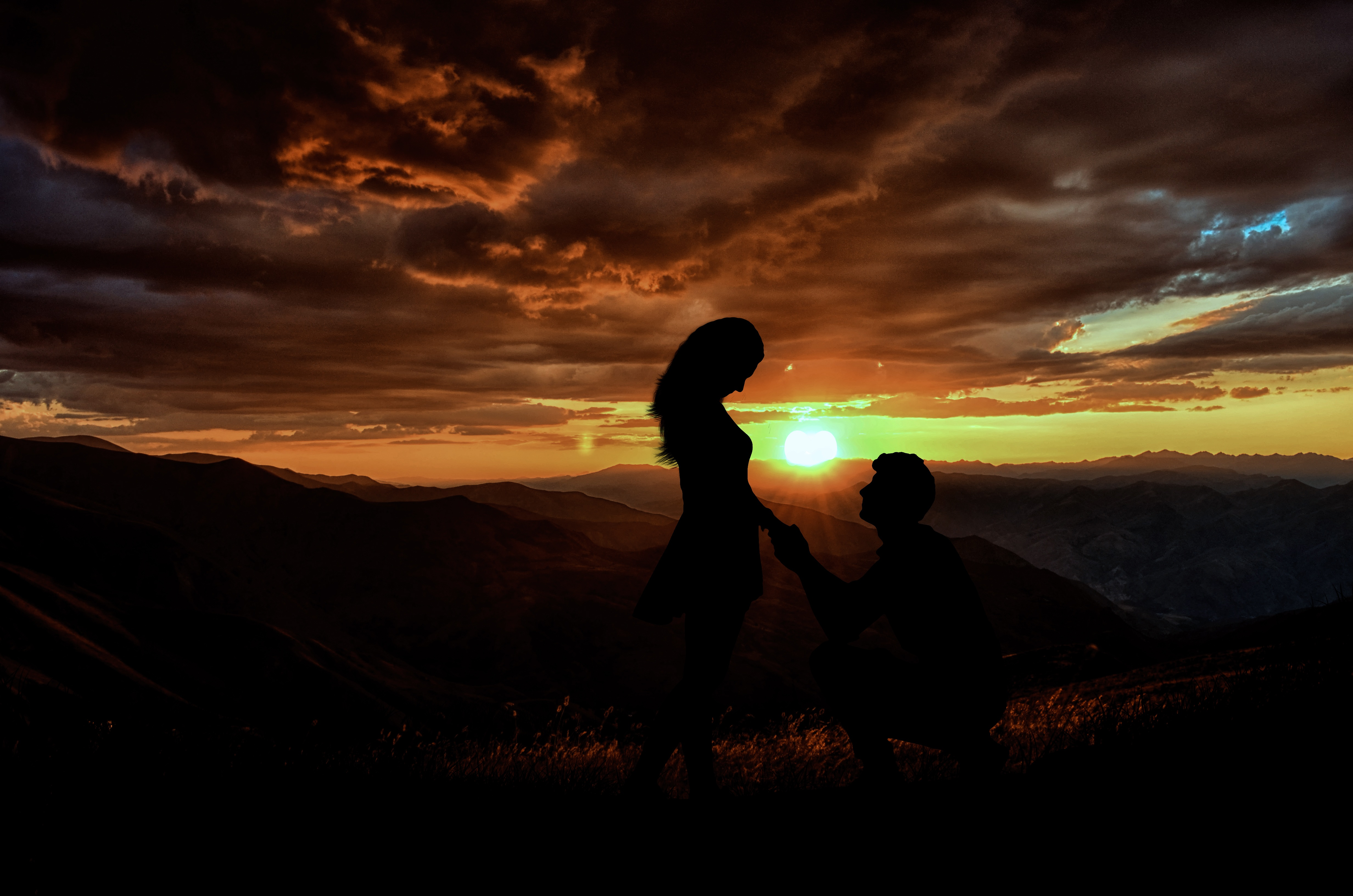 146 Love Couple Pic Images Wallpaper Pictures Hd 1080p: 1920x1080 Couple Silhouette 5k Laptop Full HD 1080P HD 4k